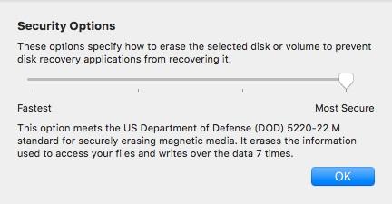 Cómo borrar, de forma segura, el disco duro de un Mac - Image 3 - professor-falken.com