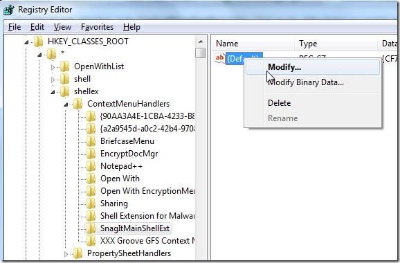Come rimuovere le applicazioni dal menu contestuale di Windows - Immagine 2 - Professor-falken.com