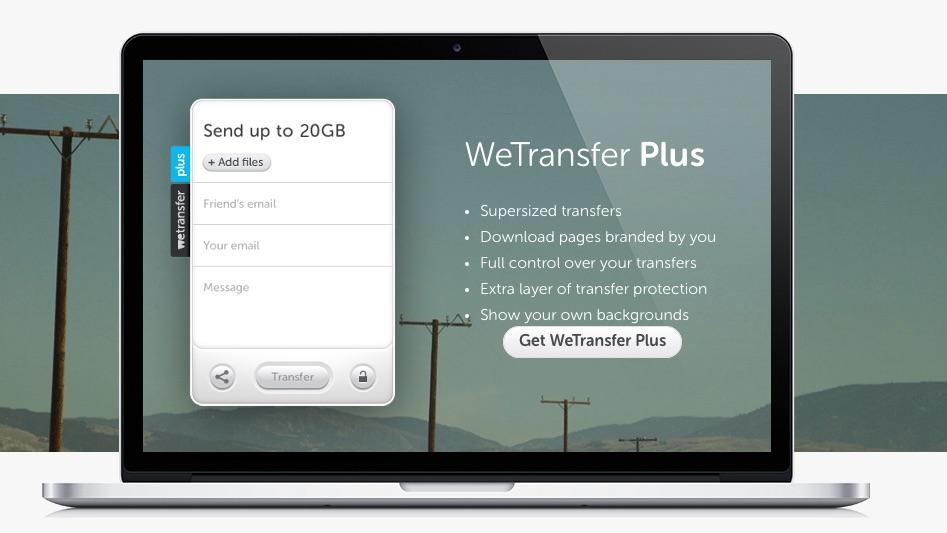 Обмениваться большими файлами, легко через Интернет, с WeTransfer - Профессор falken.com