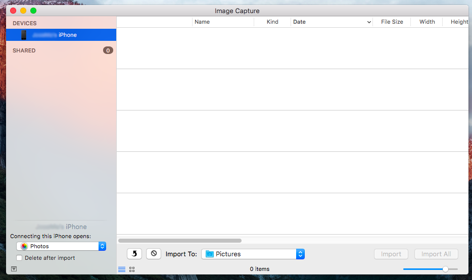Impedire l'apertura le foto dell'applicazione Mac per collegare la fotocamera o iPhone - Immagine 2 - Professor-falken.com