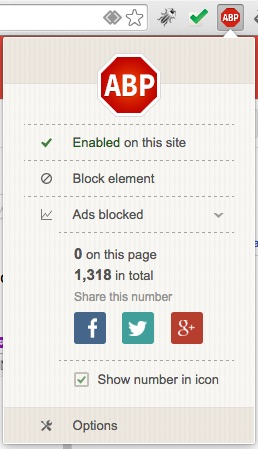 Comment faire pour bloquer des annonces gênantes Internet intrusive dans Chrome - Image 3 - Professor-falken.com