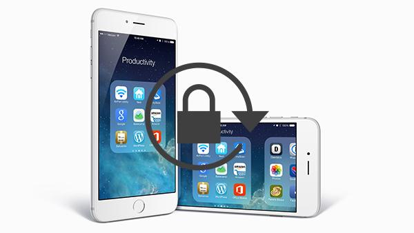 Как избежать вращения экрана вашего iPhone - Профессор falken.com