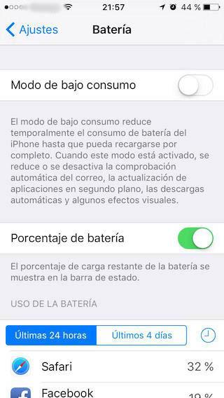 Comment afficher le pourcentage de charge à côté de l'icône de batterie dans la barre d'État sur l'iPhone - Image 2 - Professor-falken.com