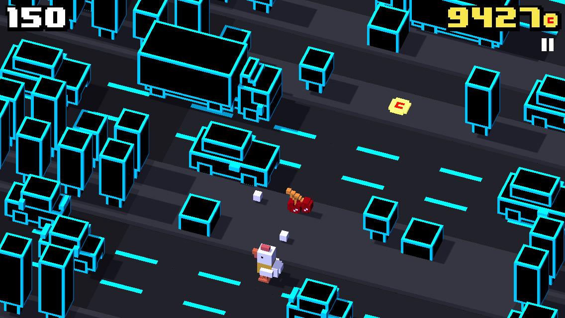 Crossy Road, una versión moderna del juego de la rana que cruza la carretera - Image 4 - professor-falken.com