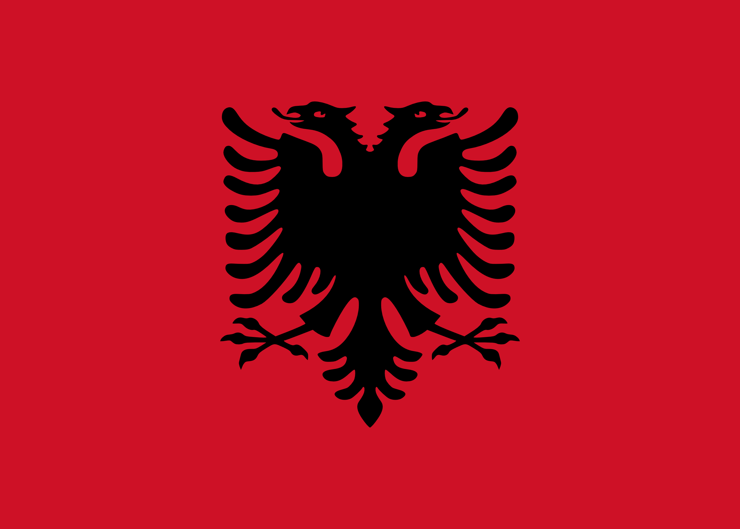 albania, país, emblema, insignia, シンボル - HD の壁紙 - 教授-falken.com