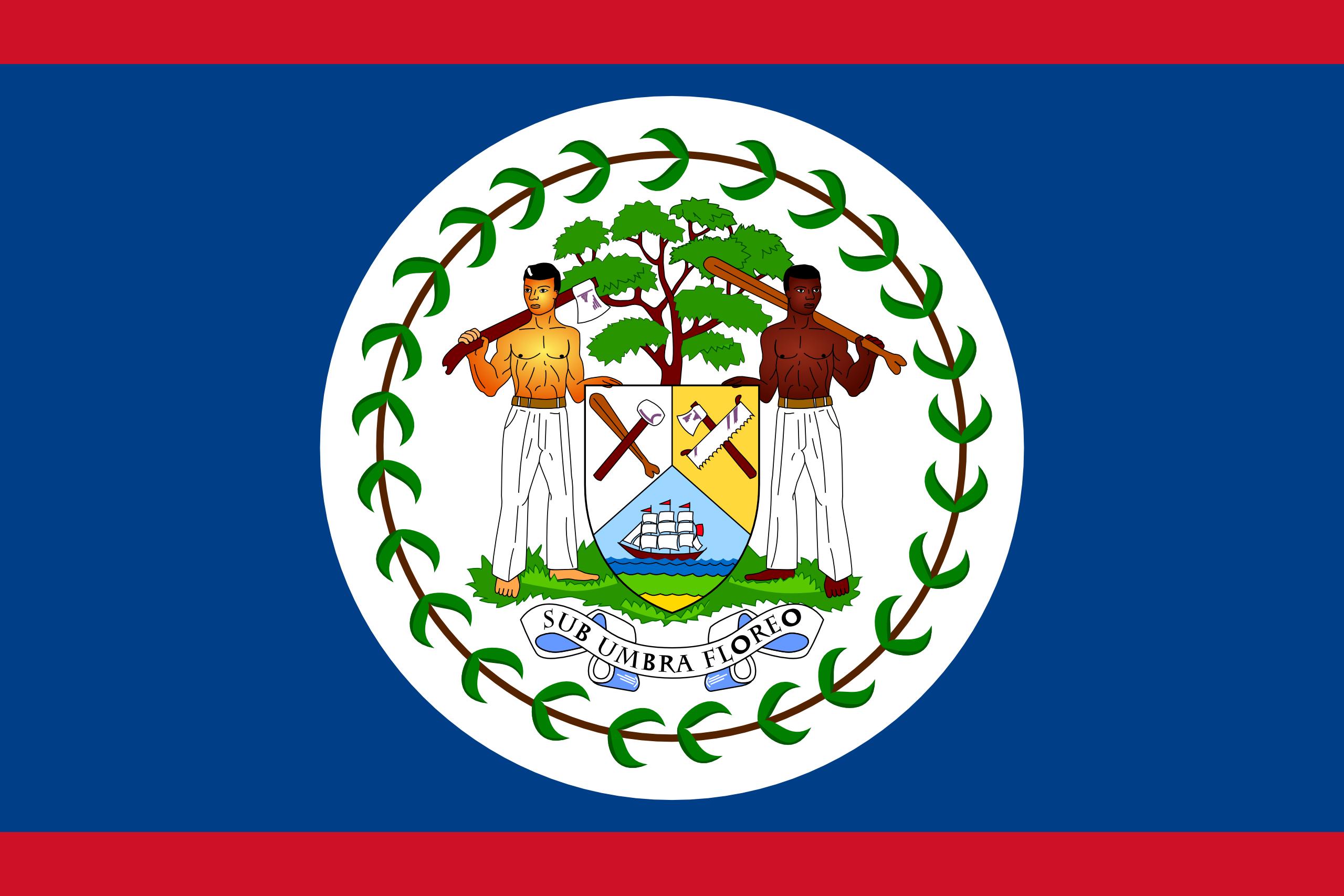 Belize, pays, emblème, logo, symbole - Fonds d'écran HD - Professor-falken.com