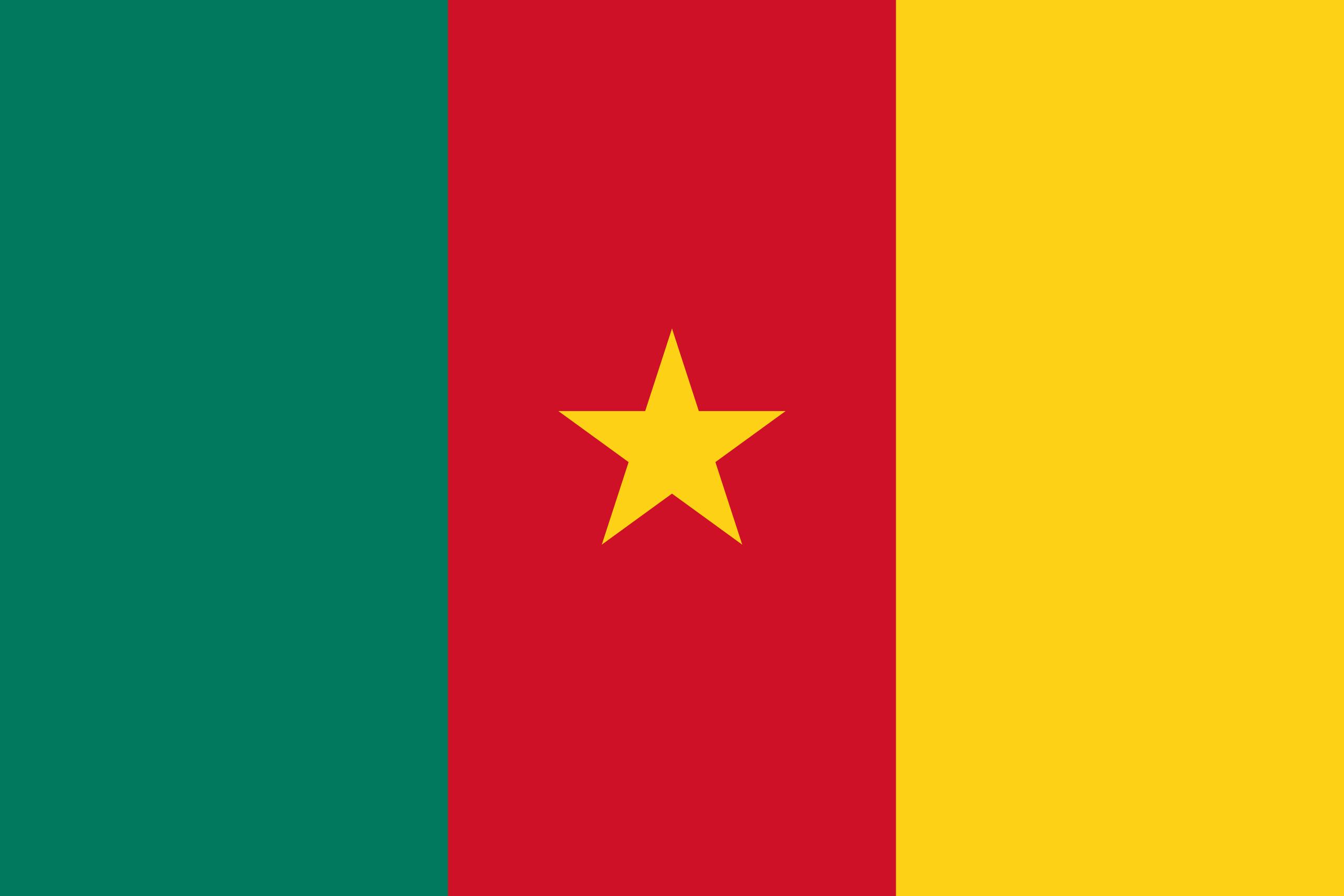 camerún, страна, Эмблема, логотип, символ - Обои HD - Профессор falken.com
