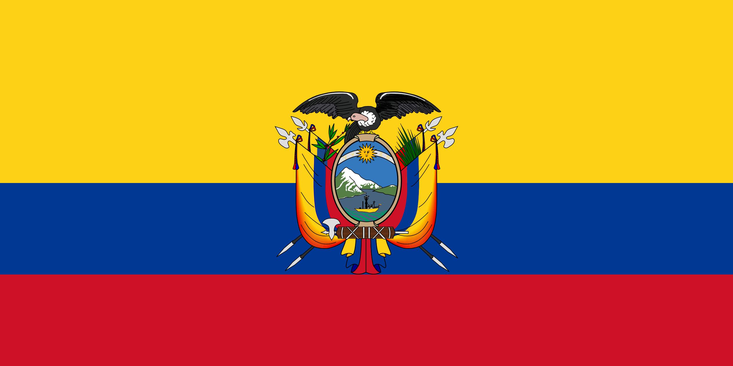 ecuador, χώρα, έμβλημα, λογότυπο, σύμβολο - Wallpapers HD - Professor-falken.com