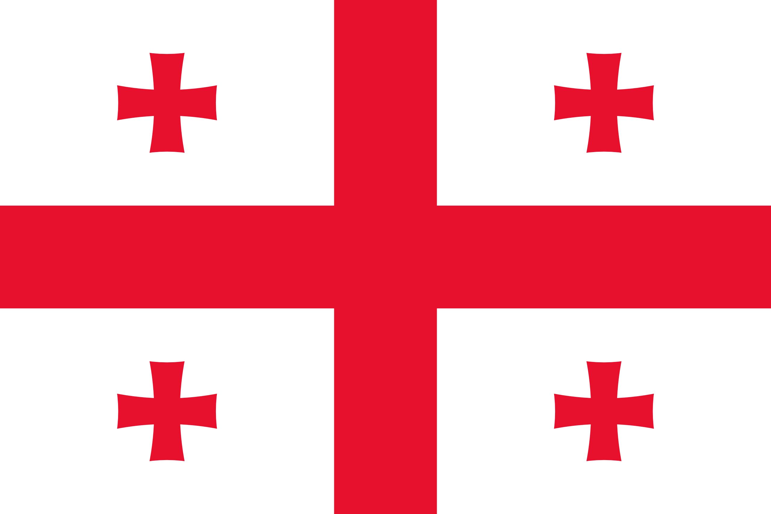 Geórgia, país, Brasão de armas, logotipo, símbolo - Papéis de parede HD - Professor-falken.com