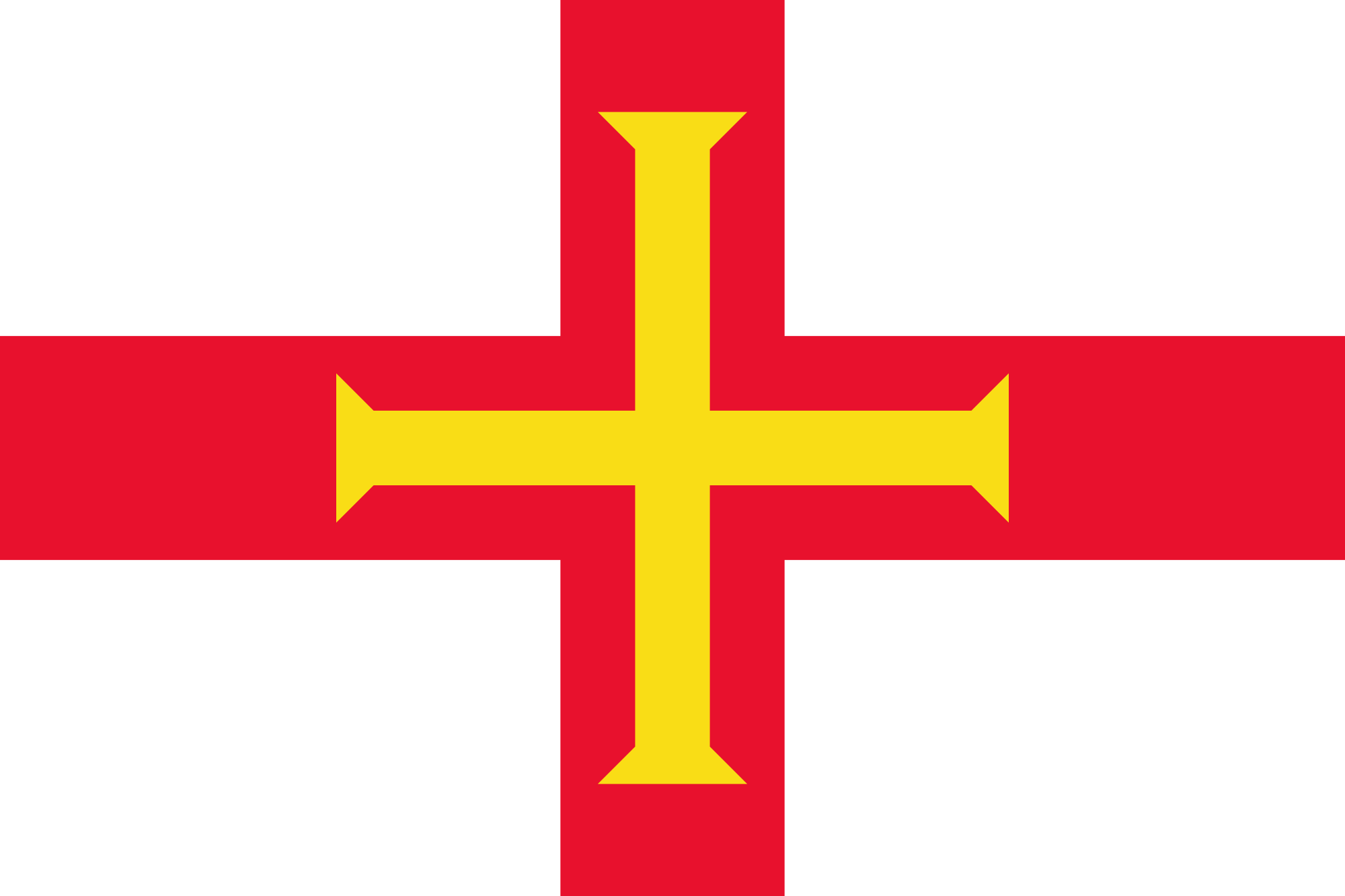 guernsey, paese, emblema, logo, simbolo - Sfondi HD - Professor-falken.com
