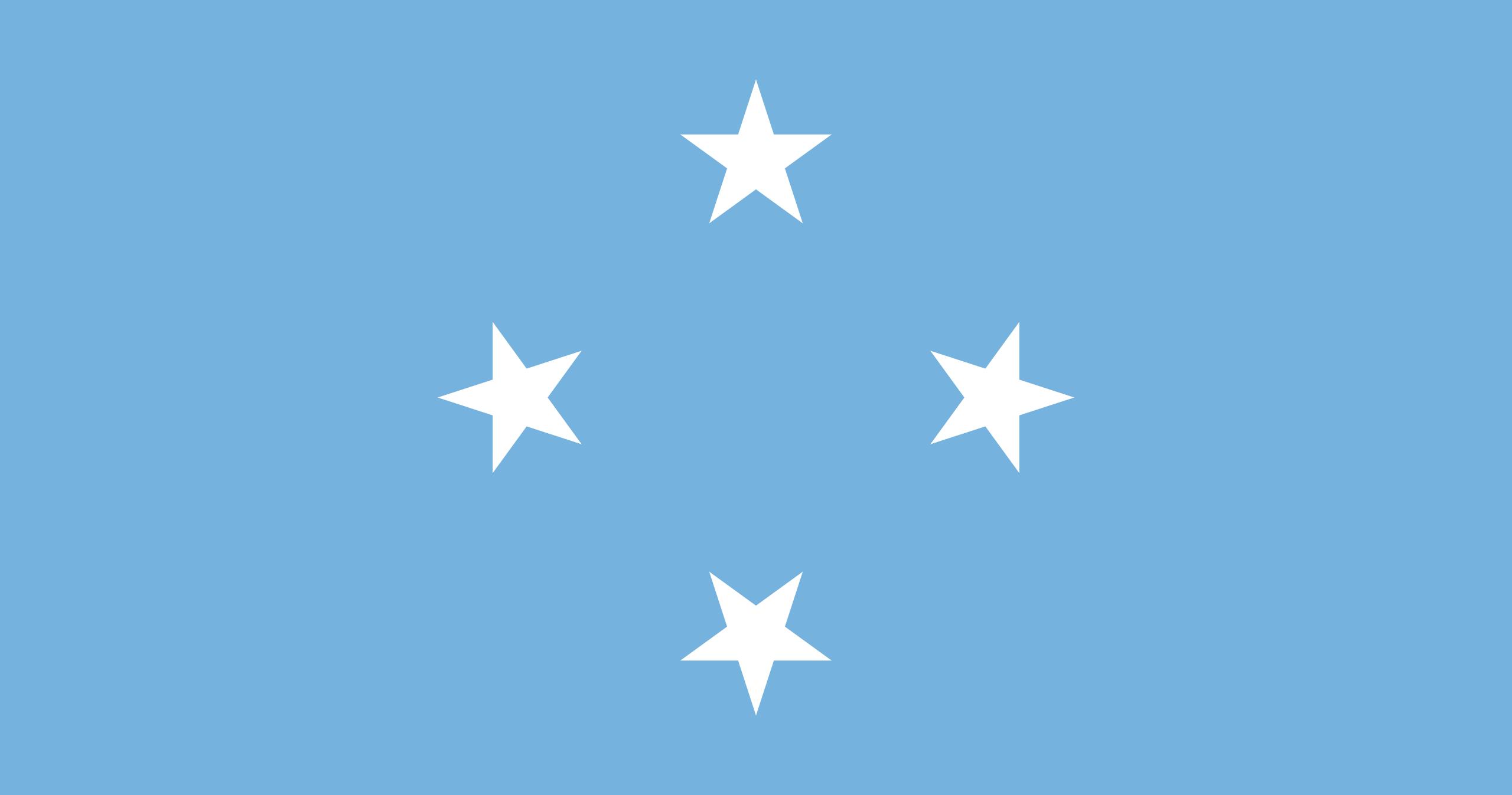 Micronésie, pays, emblème, logo, symbole - Fonds d'écran HD - Professor-falken.com