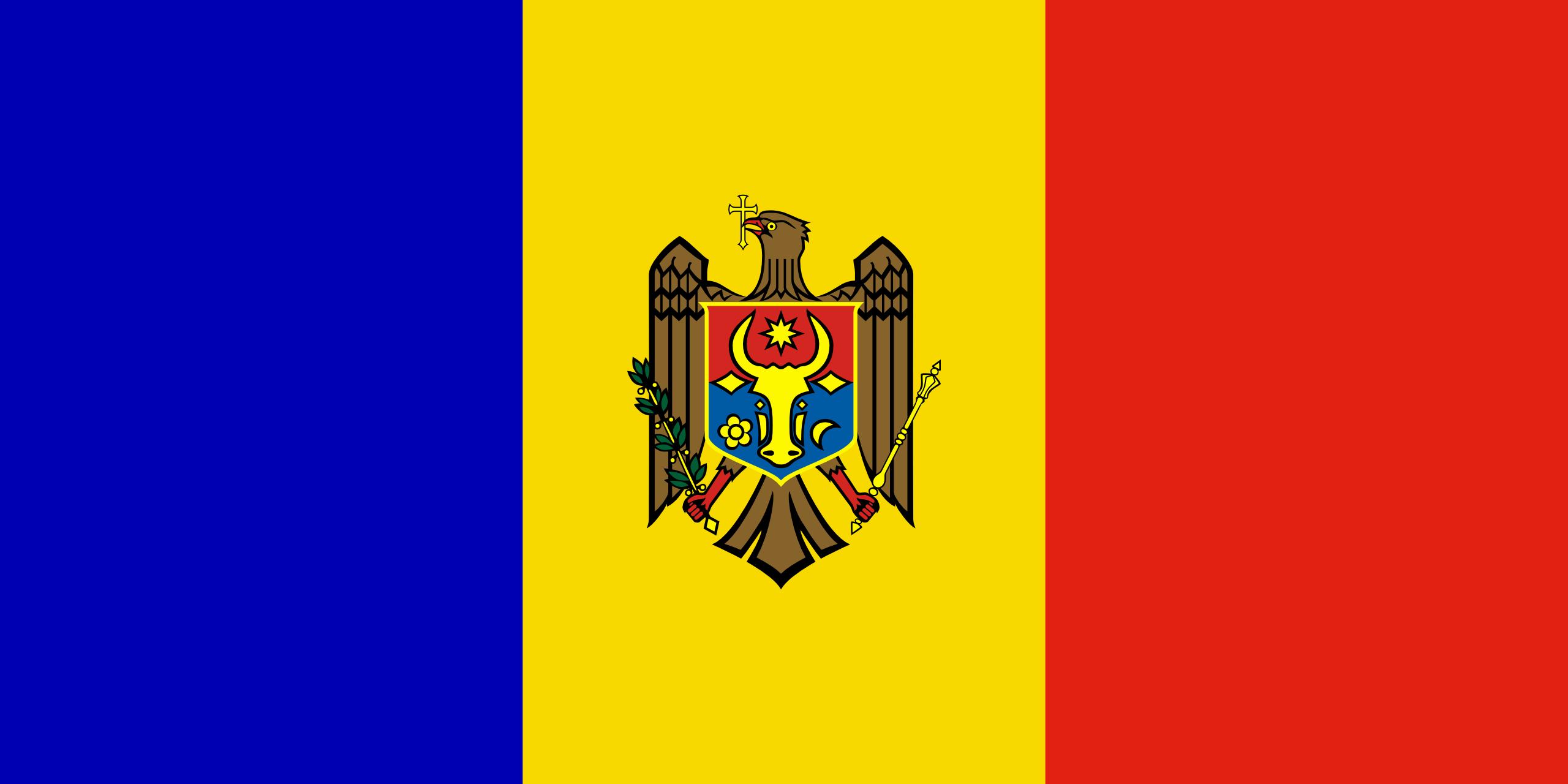 moldavia, paese, emblema, logo, simbolo - Sfondi HD - Professor-falken.com