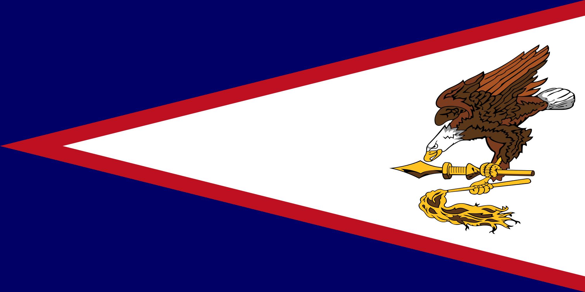 samoa americana, χώρα, έμβλημα, λογότυπο, σύμβολο - Wallpapers HD - Professor-falken.com