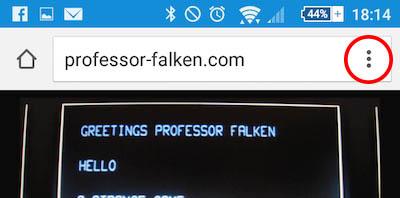 Cómo añadir una web a la Pantalla de Inicio de tu teléfono Android desde Chrome - Image 5 - professor-falken.com