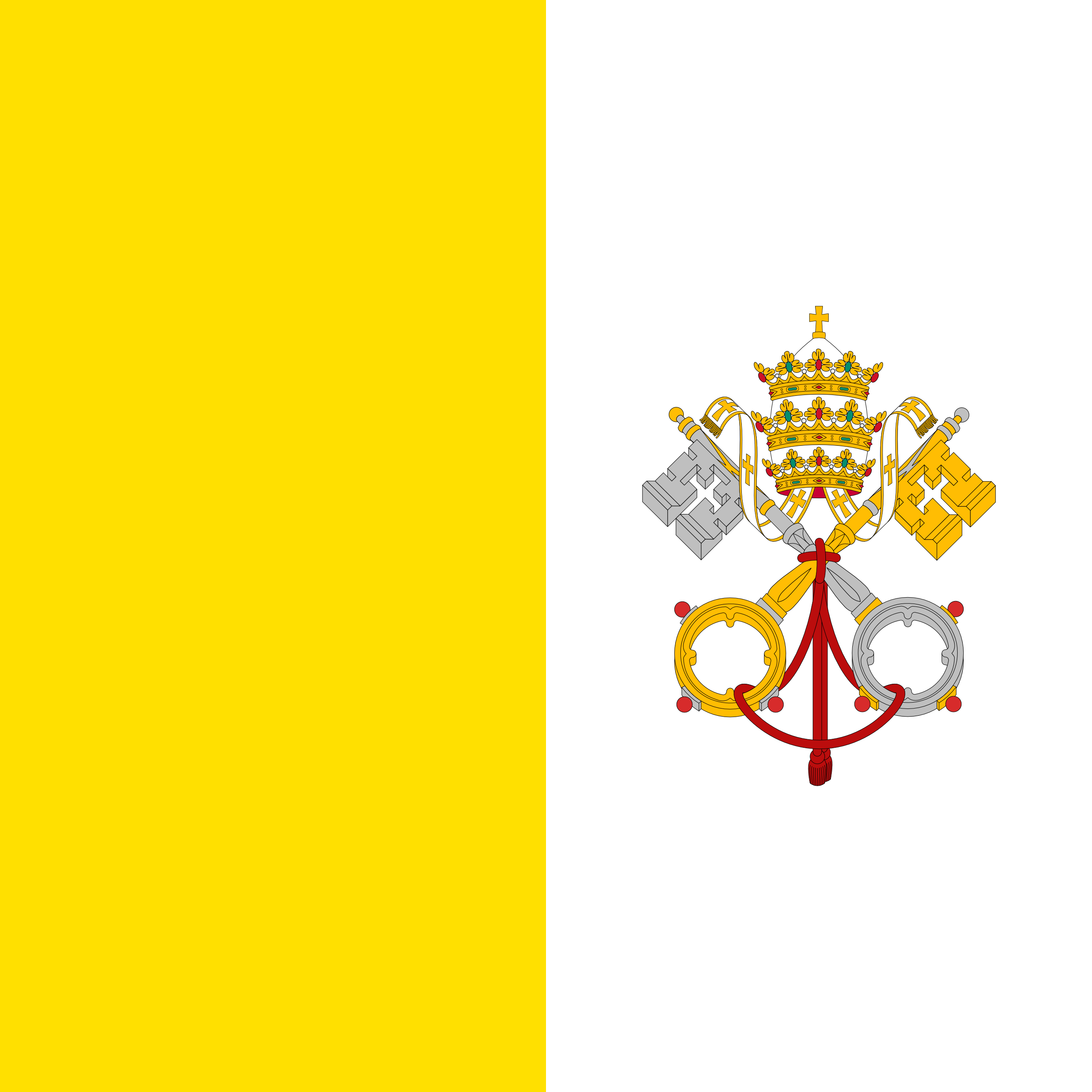 梵蒂冈城, 国家, 会徽, 徽标, 符号 - 高清壁纸 - 教授-falken.com