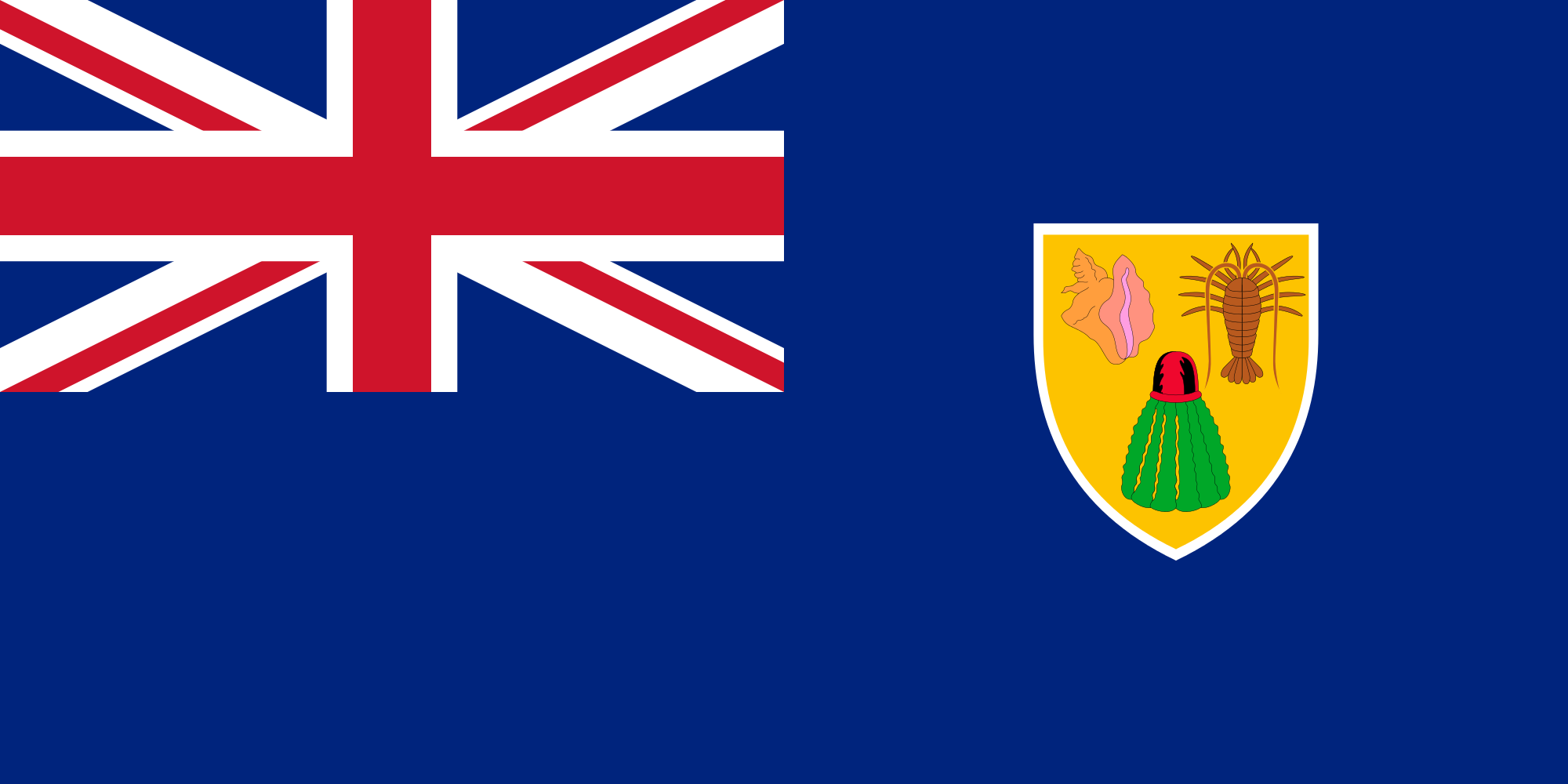 Turc îles Turques et Caïques, pays, emblème, logo, symbole - Fonds d'écran HD - Professor-falken.com