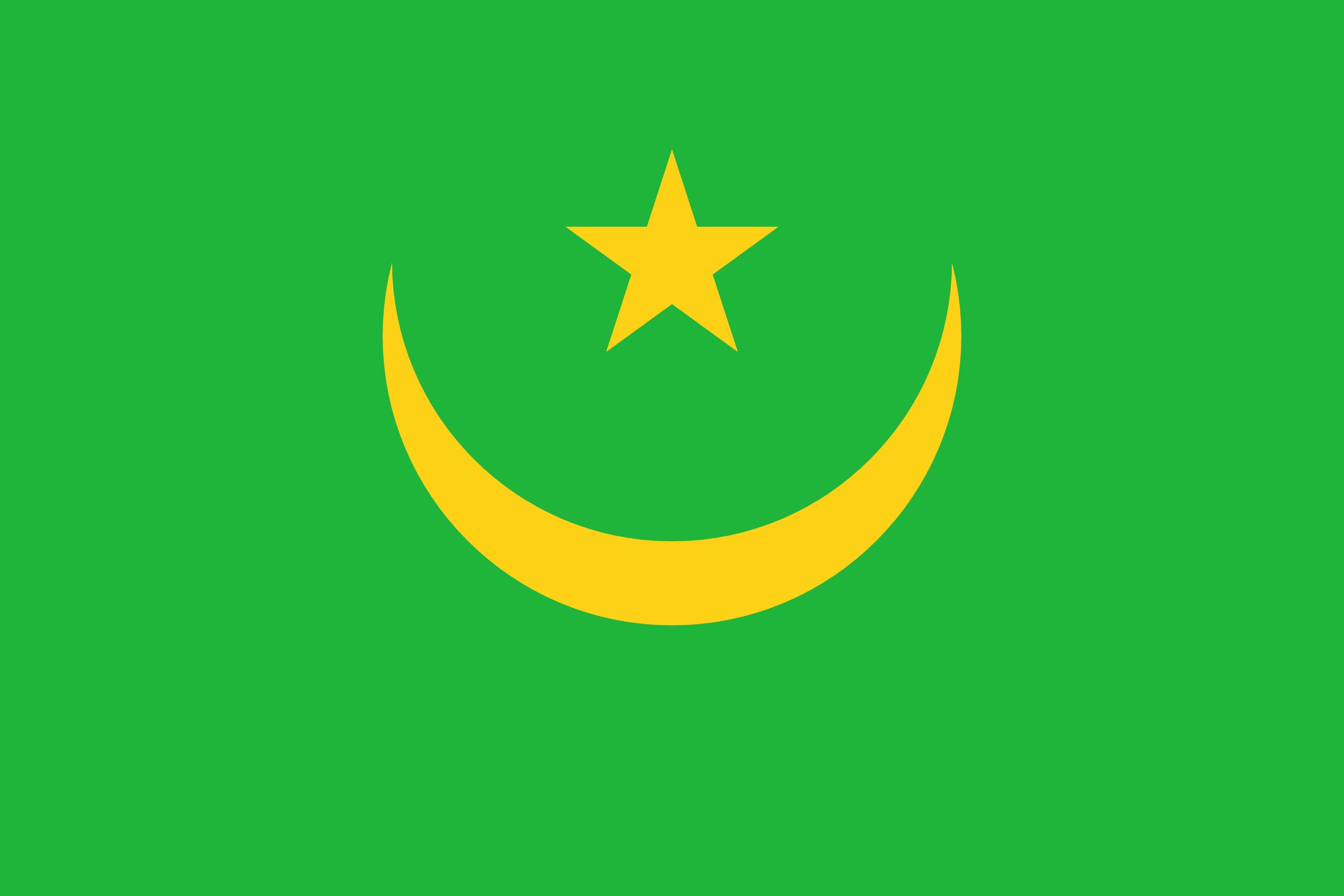 Mauritanie, pays, emblème, logo, symbole - Fonds d'écran HD - Professor-falken.com
