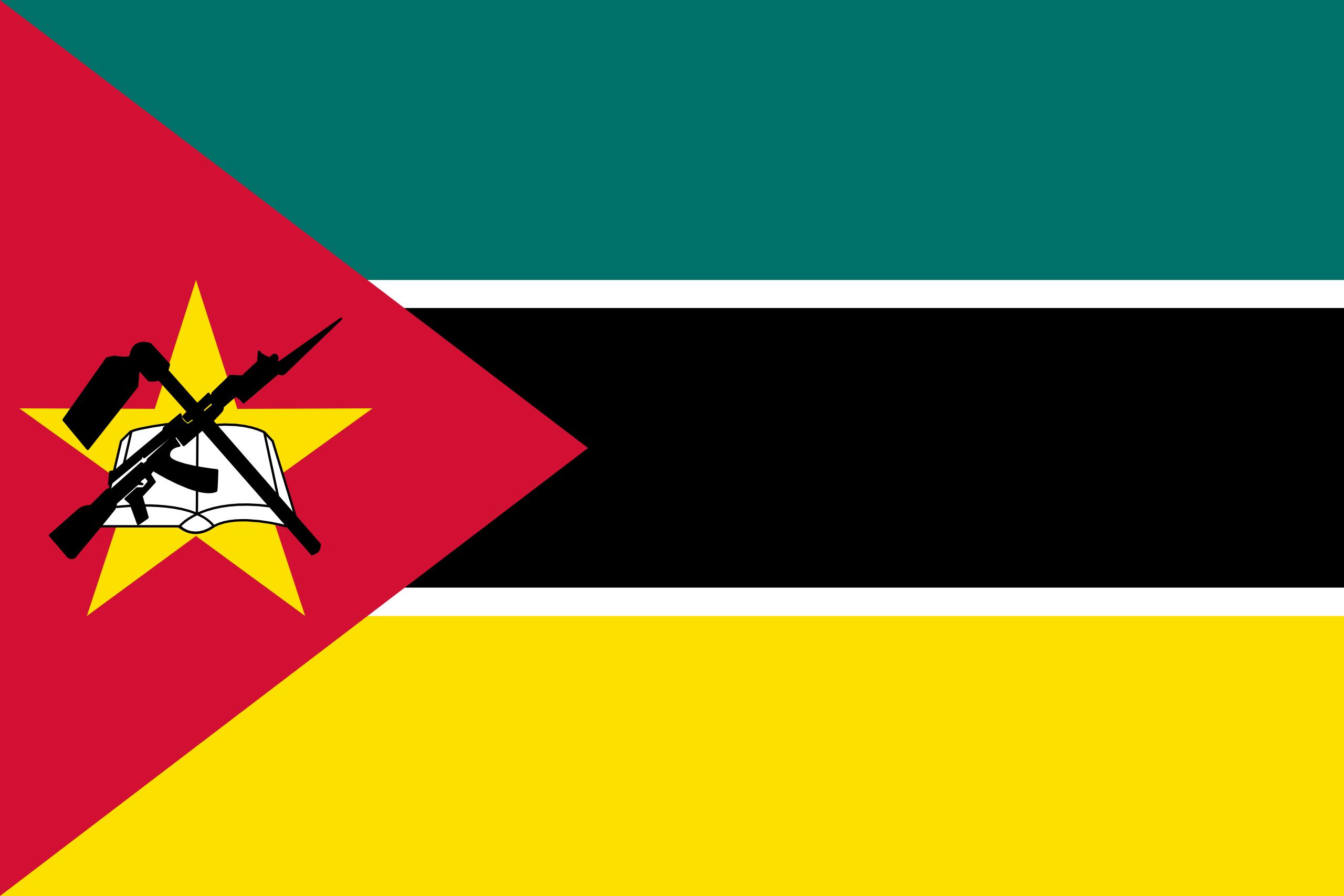 mozambique, país, emblema, insignia, símbolo - Fondos de Pantalla HD - professor-falken.com