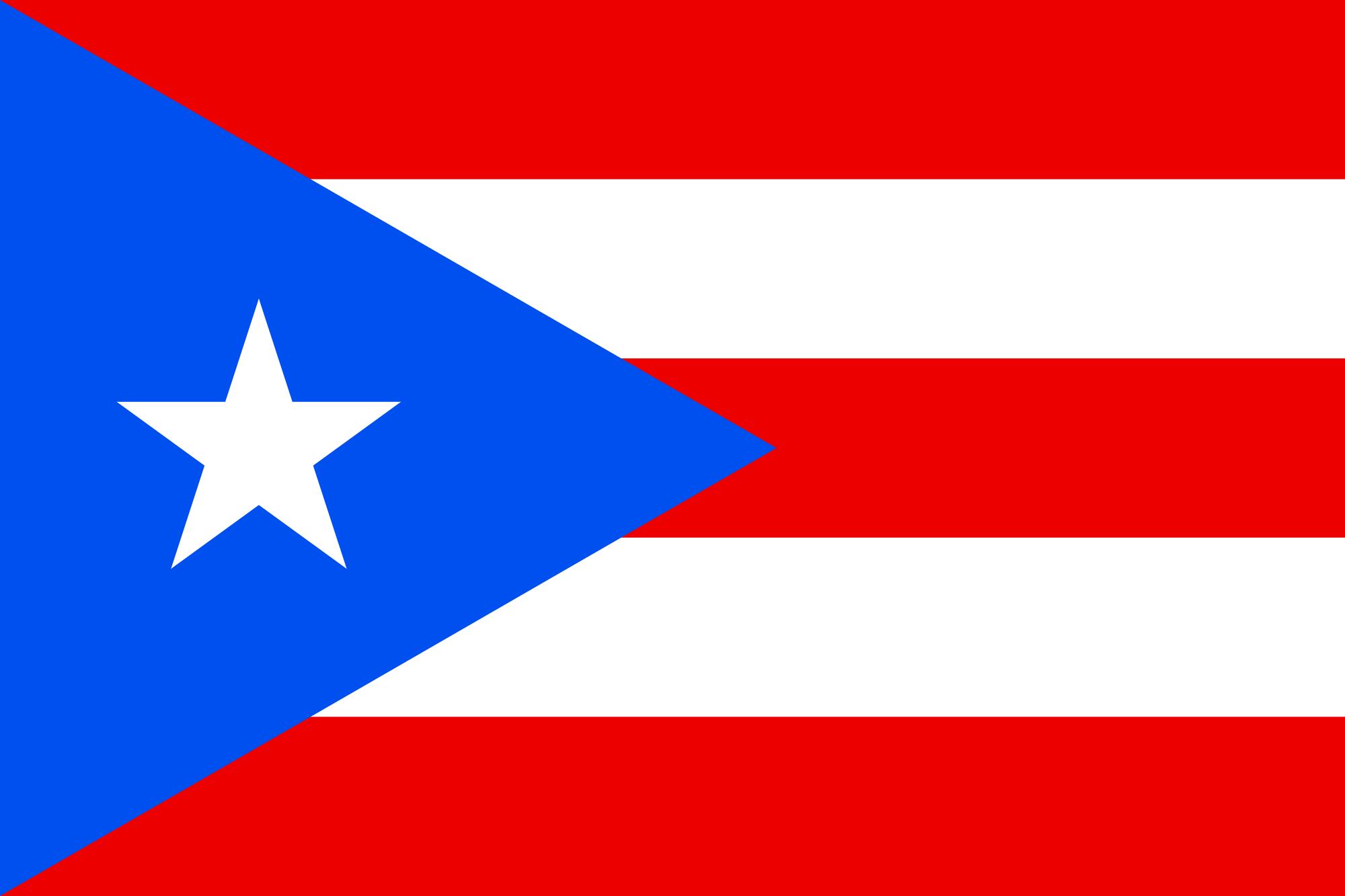 Porto Rico, pays, emblème, logo, symbole - Fonds d'écran HD - Professor-falken.com