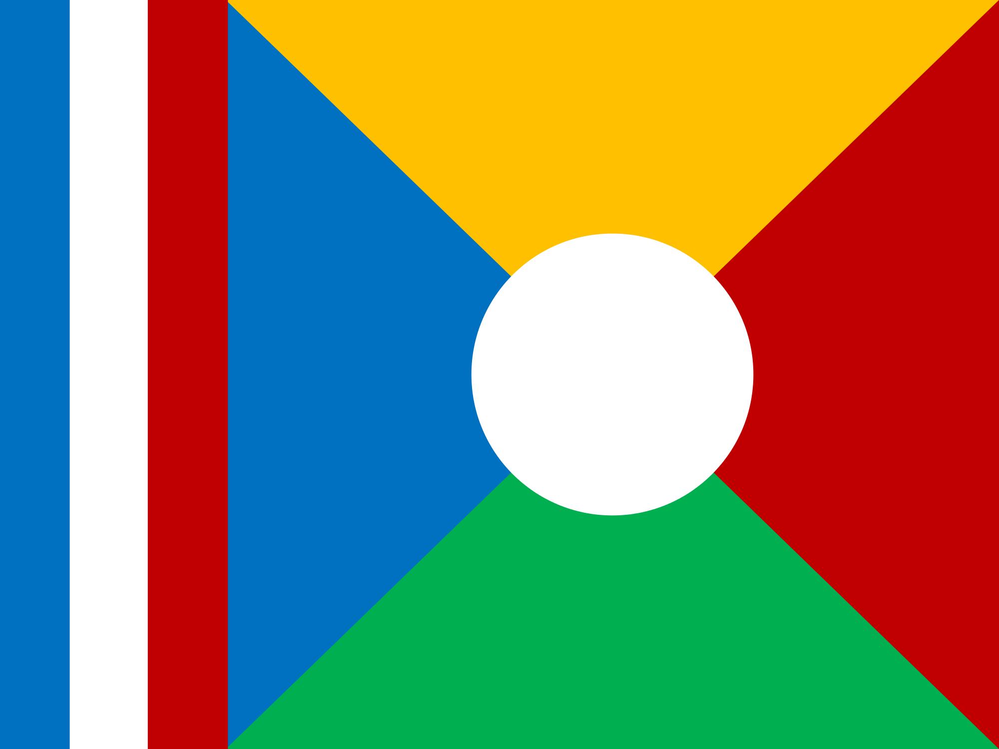 reunión, paese, emblema, logo, simbolo - Sfondi HD - Professor-falken.com