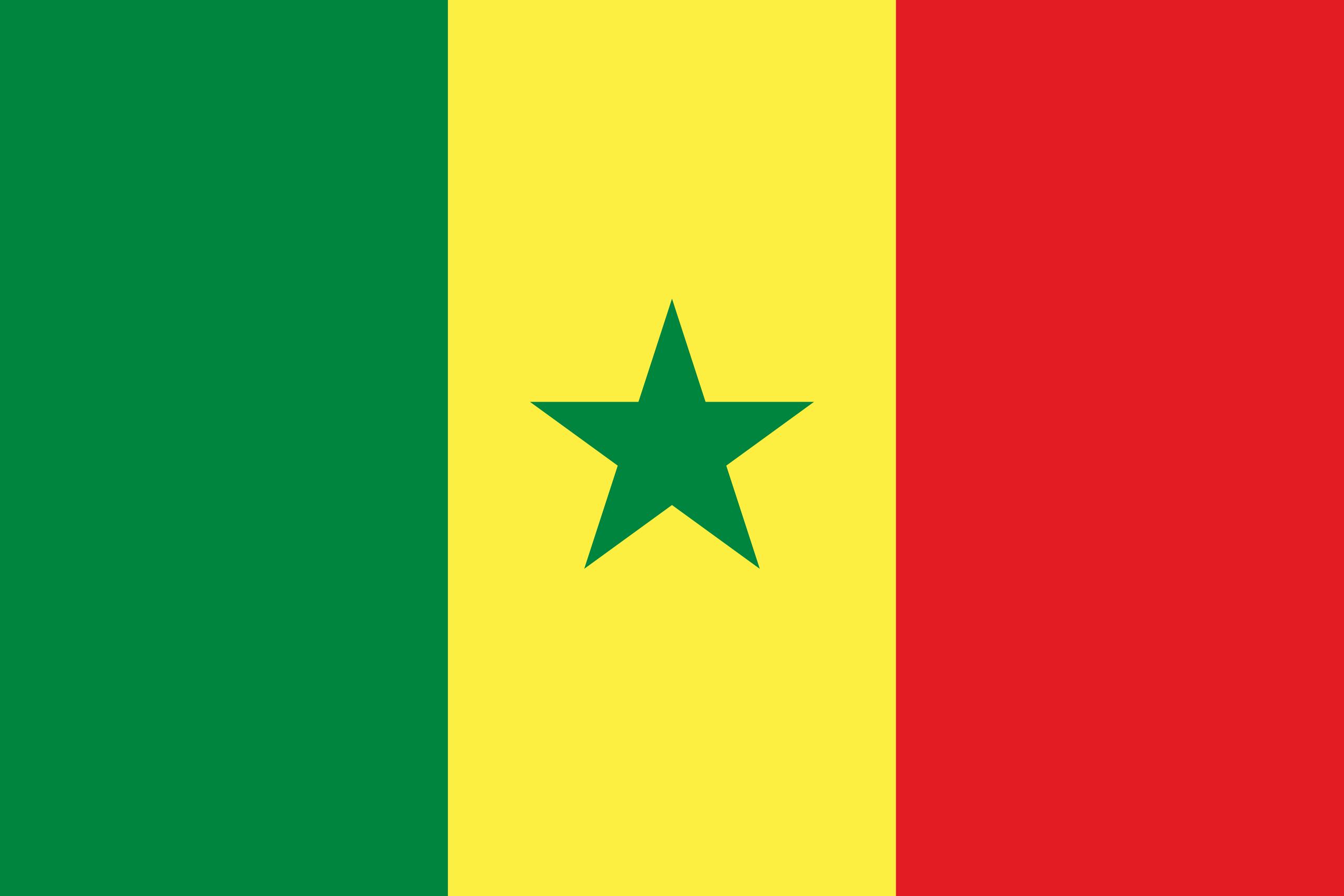 Sénégal, pays, emblème, logo, symbole - Fonds d'écran HD - Professor-falken.com