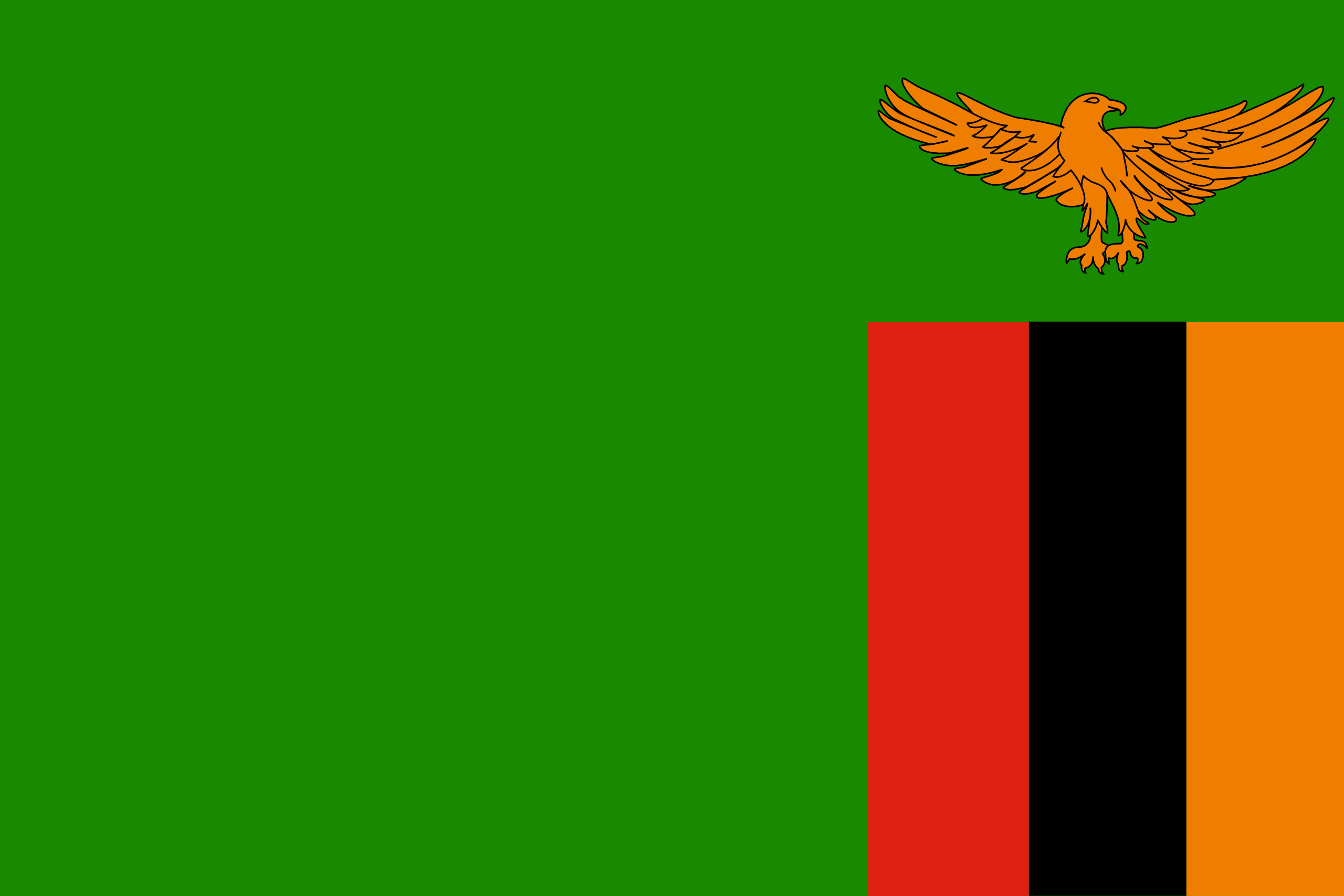 Замбия, страна, Эмблема, логотип, символ - Обои HD - Профессор falken.com