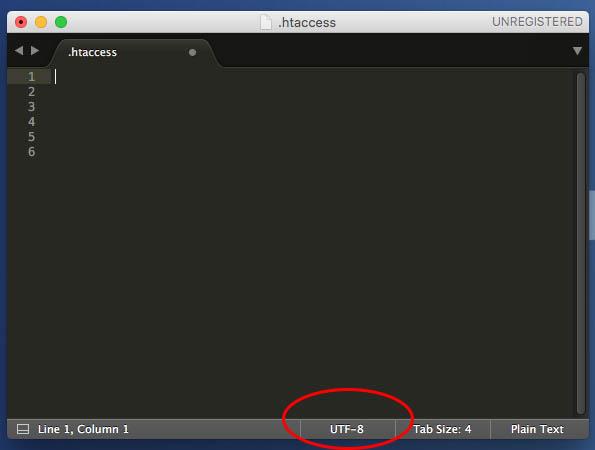 एक उदात्त पाठ फ़ाइल एन् कोडिंग वर्तमान को देखने के लिए कैसे 3 - छवि 3 - प्रोफेसर-falken.com