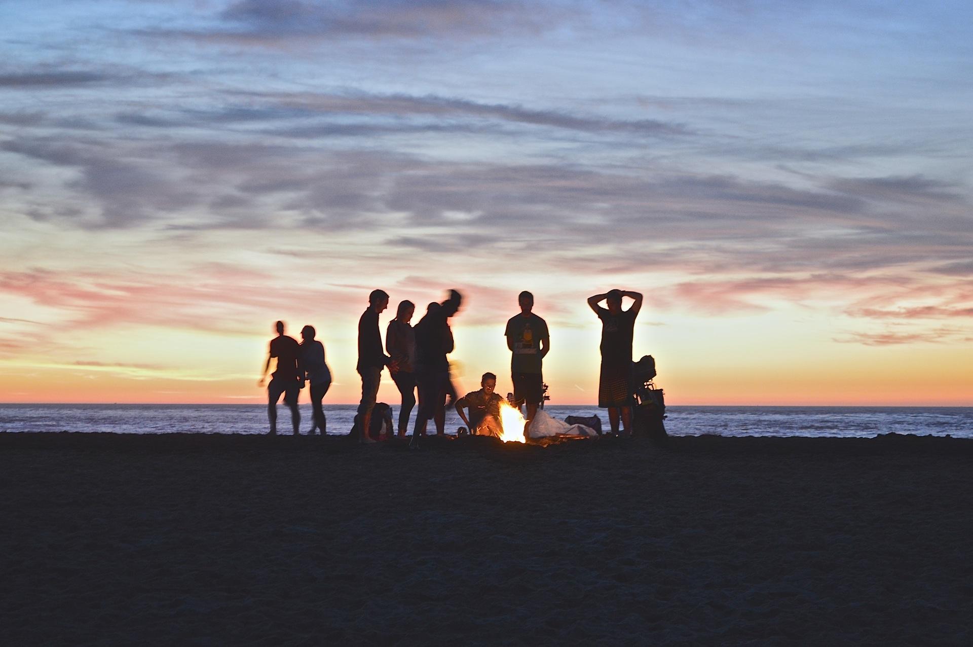 Praia, festa, amigos, Verão, pessoas - Papéis de parede HD - Professor-falken.com