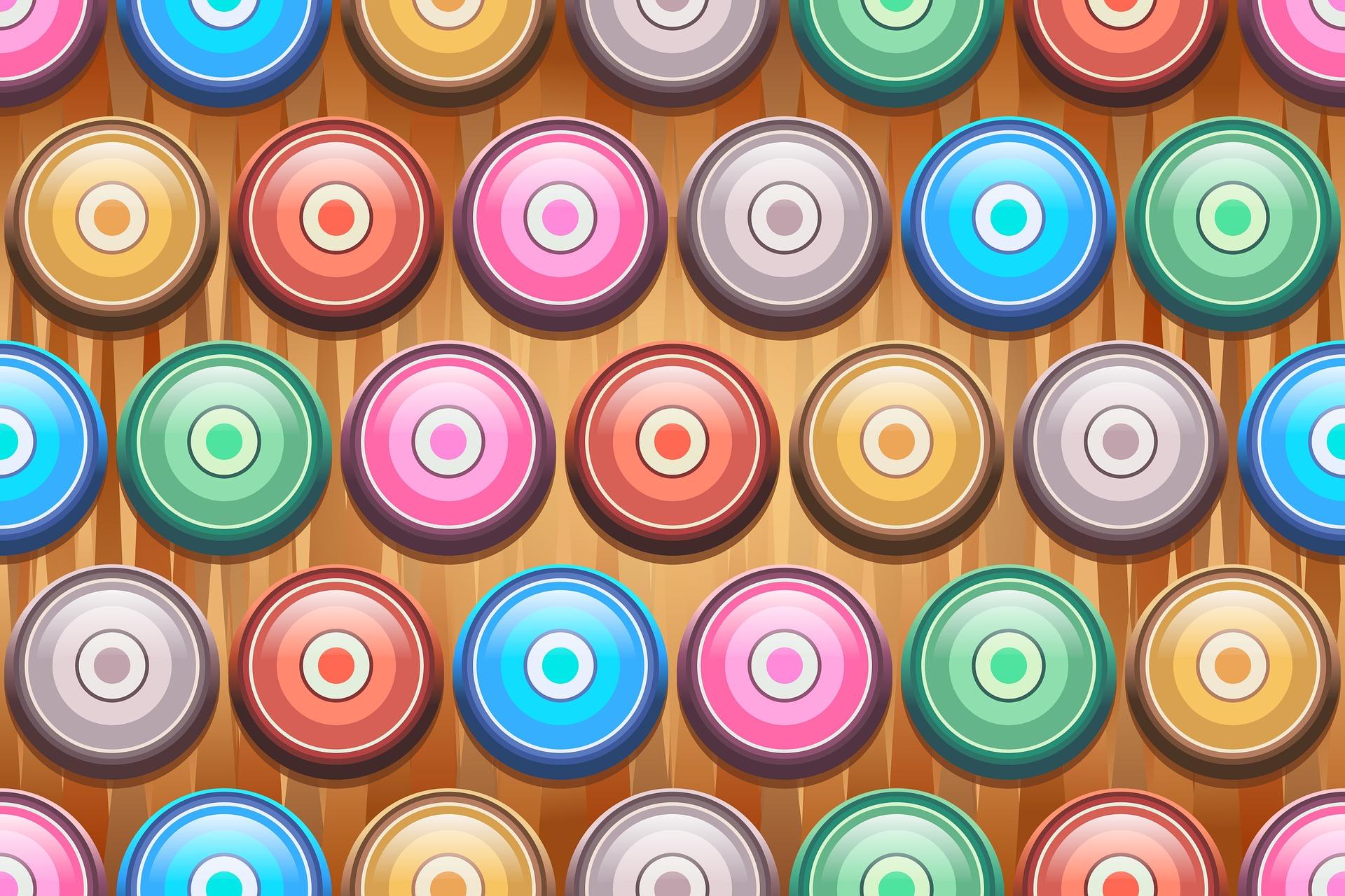 डिस्क, हलकों, रंग, गाढ़ा, समरूपता - HD वॉलपेपर - प्रोफेसर-falken.com