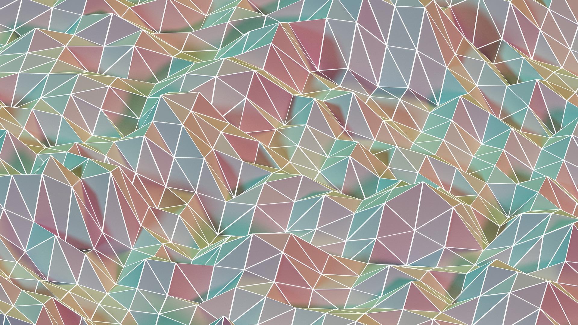 रूपों, रंग, सतह, त्रिकोण, दुर्लभ - HD वॉलपेपर - प्रोफेसर-falken.com
