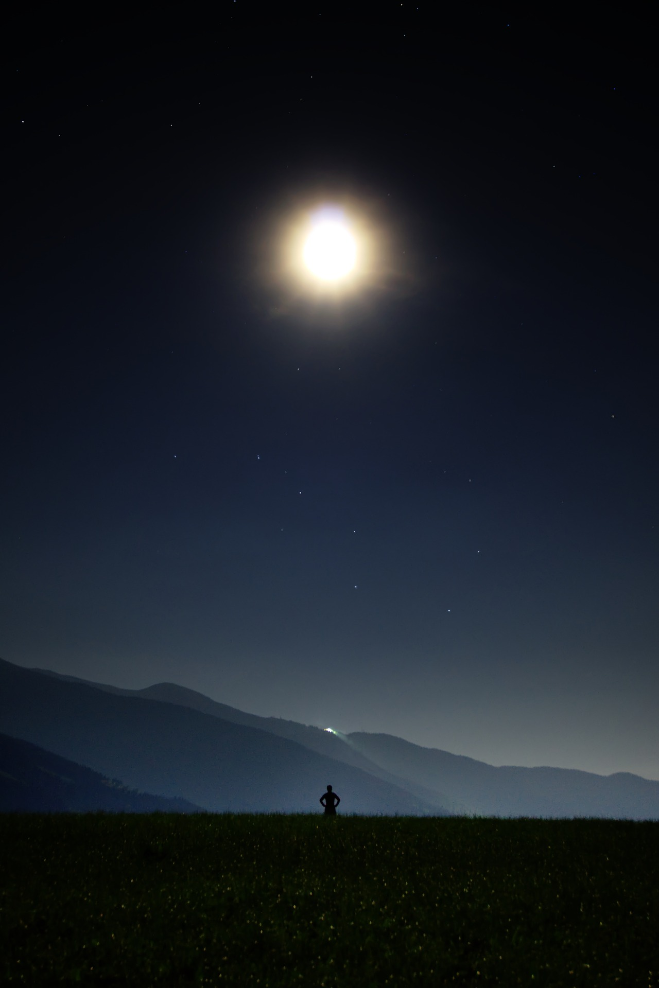 रात, चाँद, स्टार, आकाश, अंधेरे - HD वॉलपेपर - प्रोफेसर-falken.com