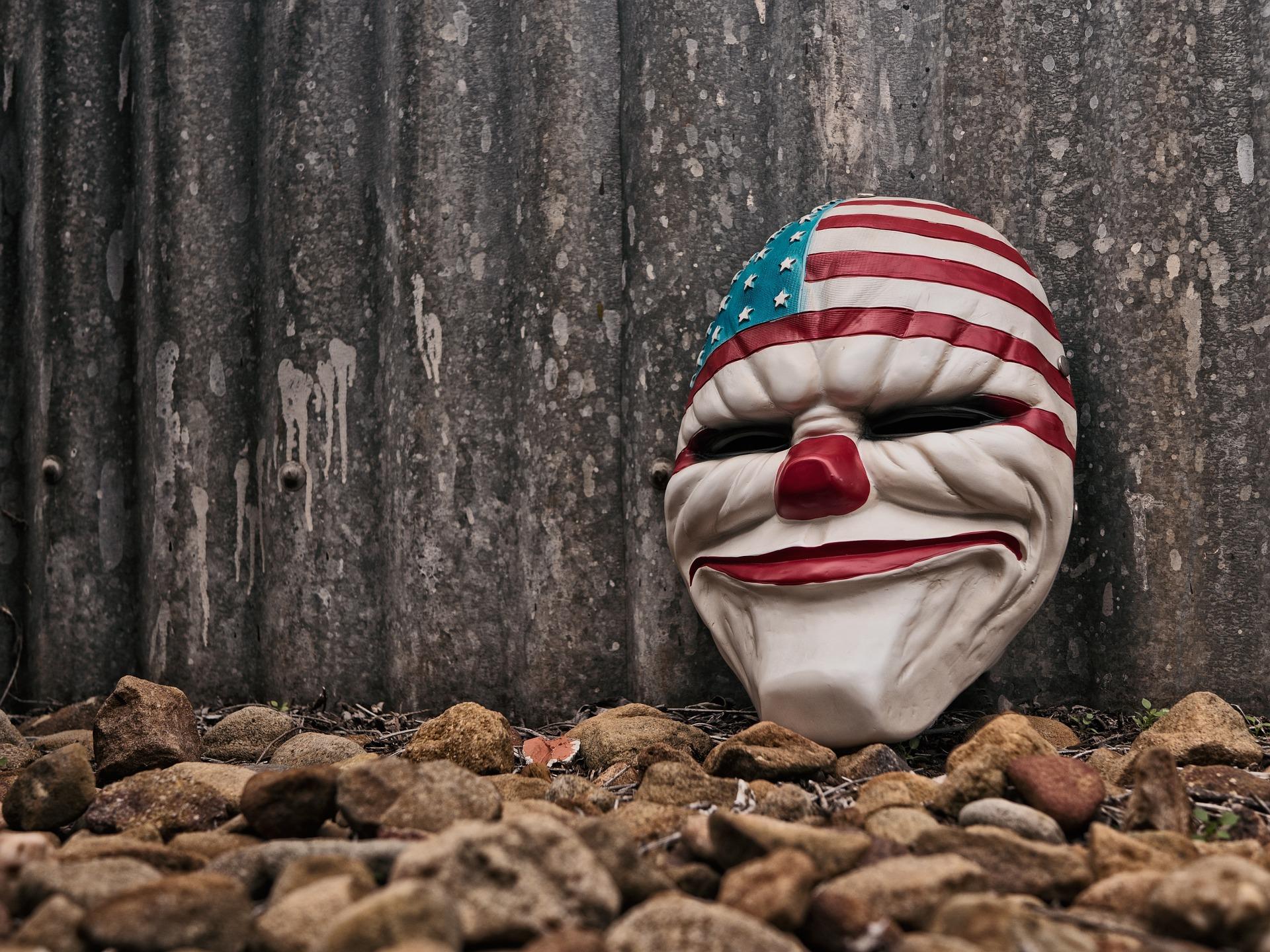 小丑, 面具, 嘉年华, 恐怖, 海滩 - 高清壁纸 - 教授-falken.com