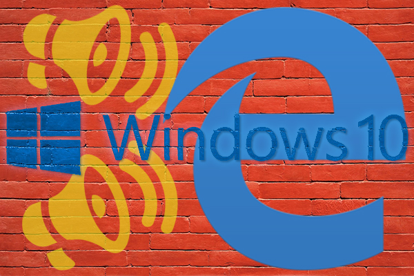 Como desativar o navegador da web Microsoft Edge sobre as notificações do Windows 10 - Professor-falken.com