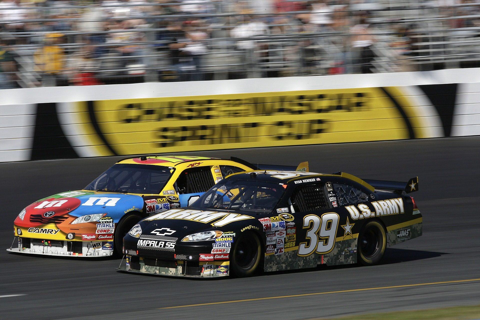 Карьера, Автомобили, NASCAR, скорость, цепь - Обои HD - Профессор falken.com