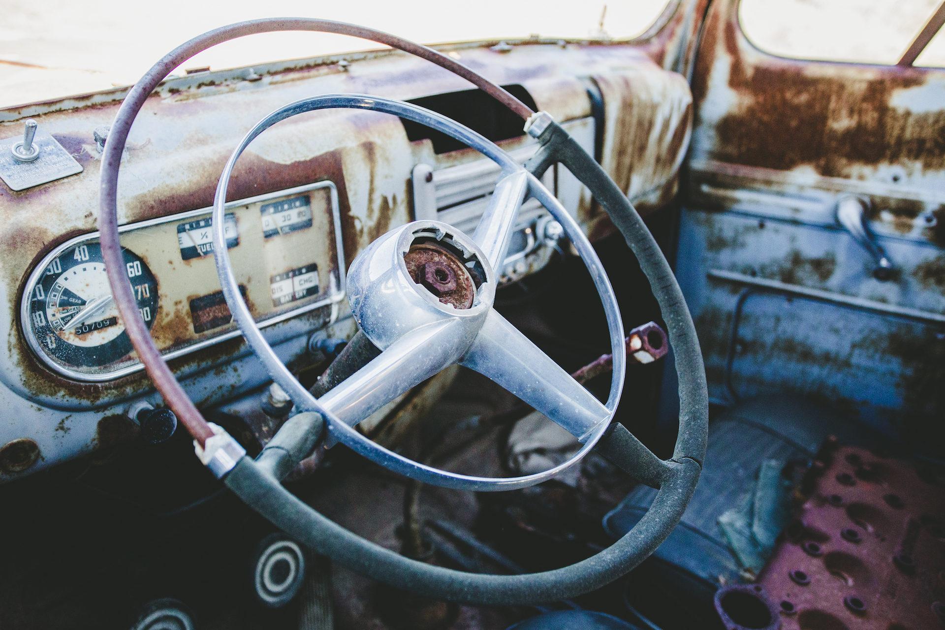 Auto, antiguo, alt, Rostige, Jahrgang - Wallpaper HD - Prof.-falken.com