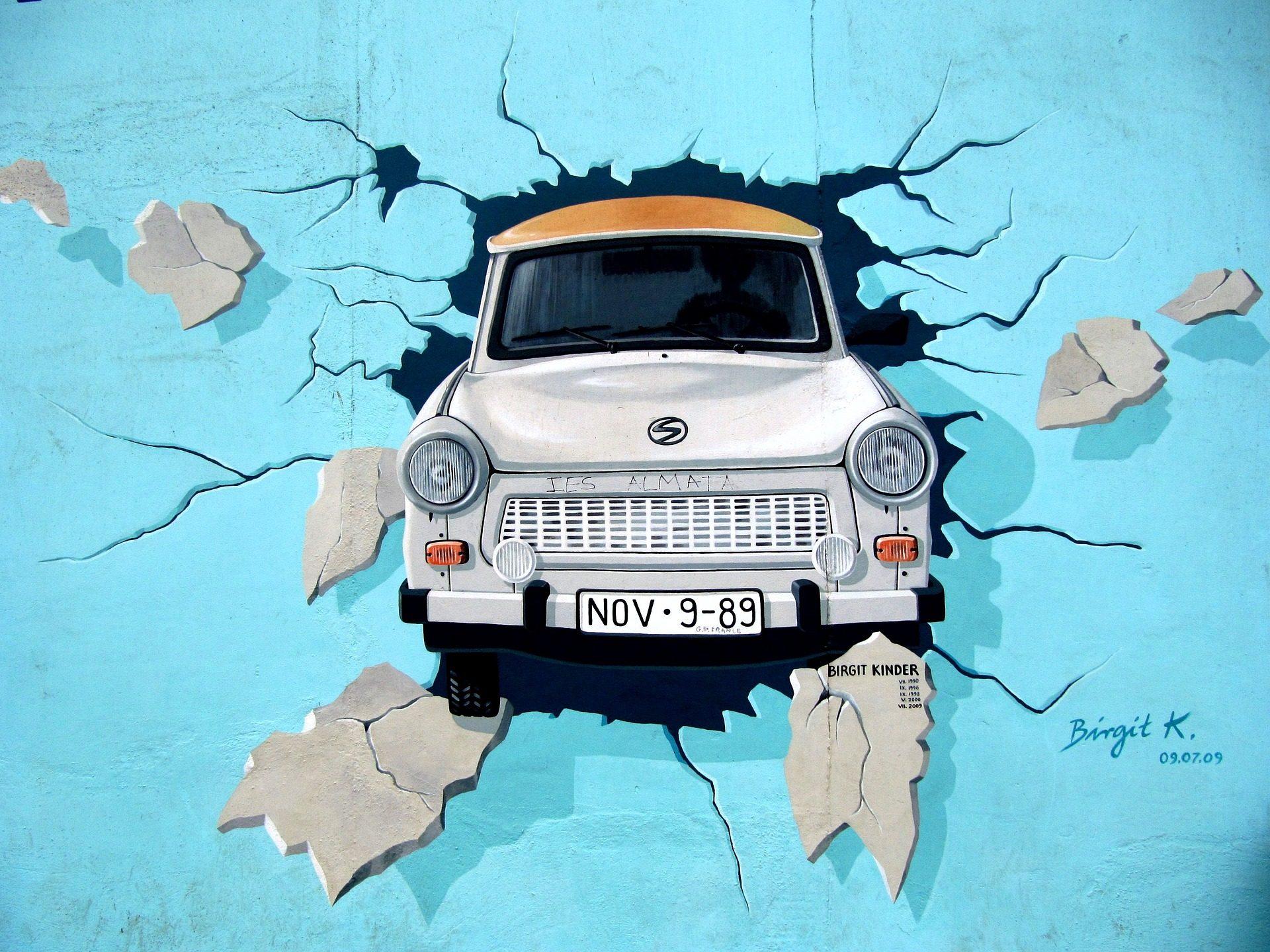 落書き, muro, berlín, 車, pa壁 HD の壁紙 - 教授-falken.com