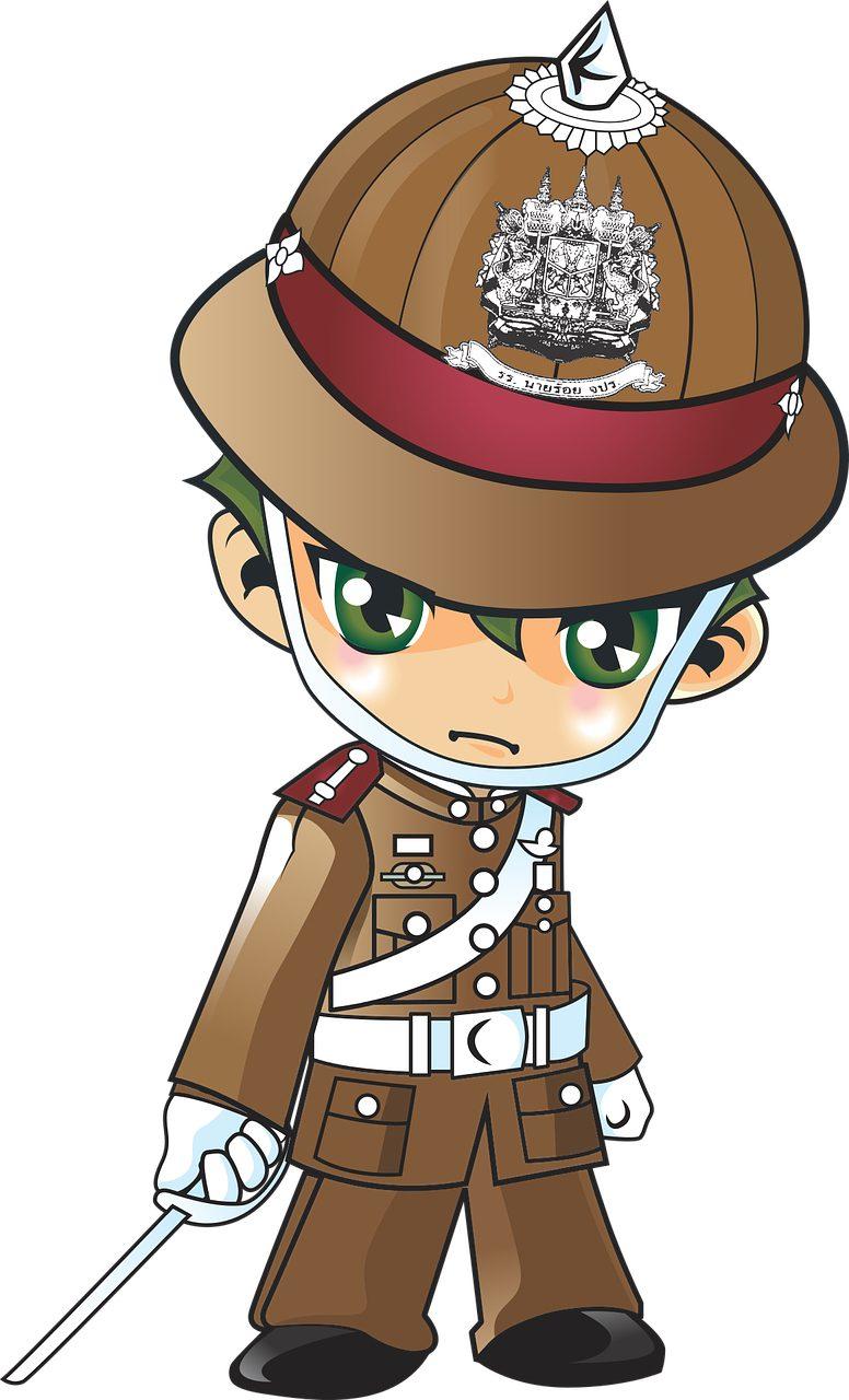 Police, Cadet, anime, Manga, des uniformes - Fonds d'écran HD - Professor-falken.com