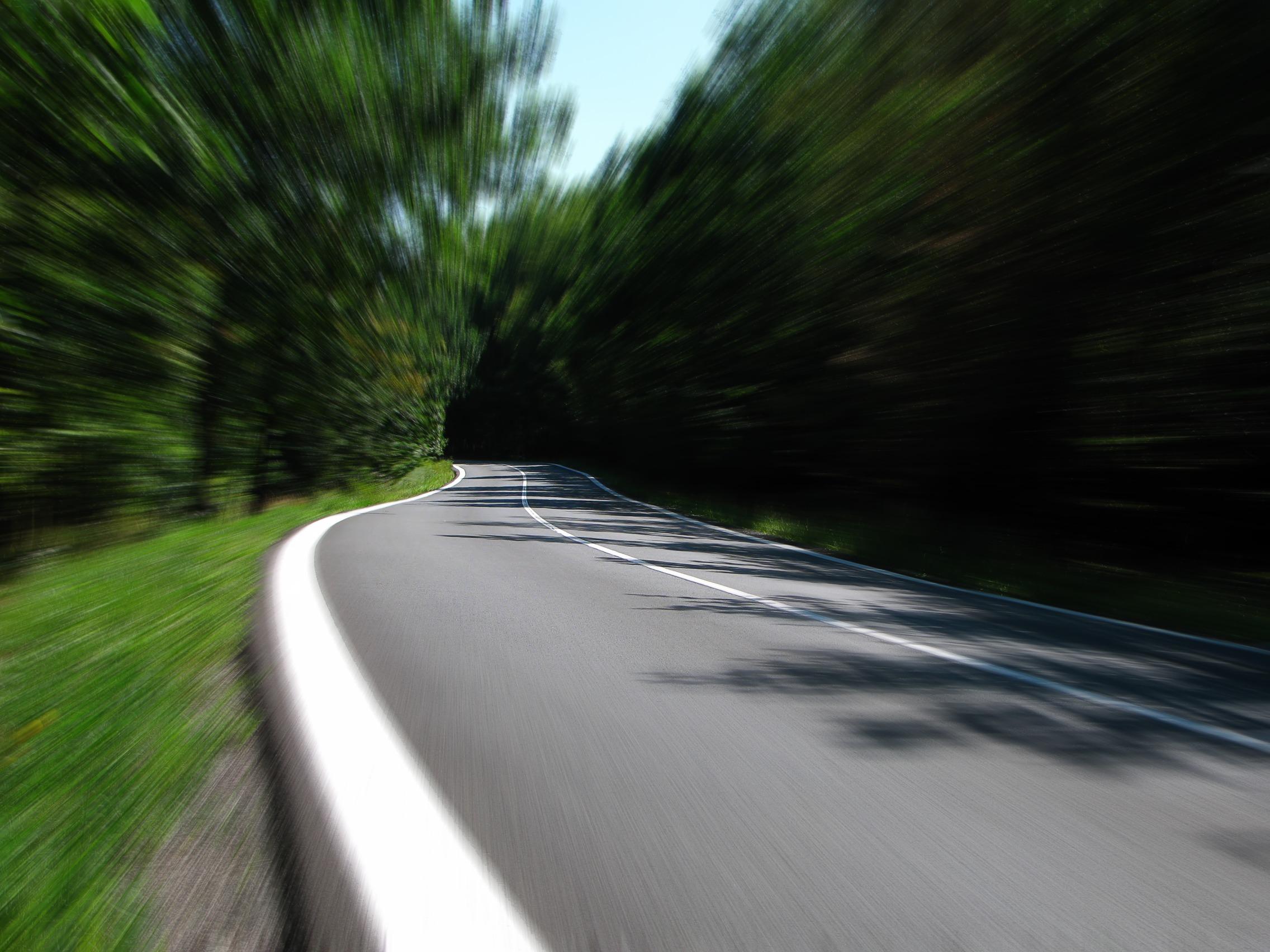 Vitesse, Route, courbe de, domaine, mouvement - Fonds d'écran HD - Professor-falken.com