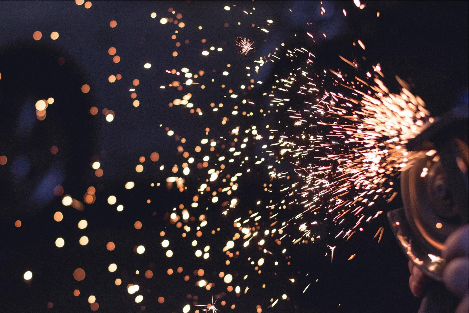 Sparks, luzes, fogo, explosão, flashes - Papéis de parede HD - Professor-falken.com