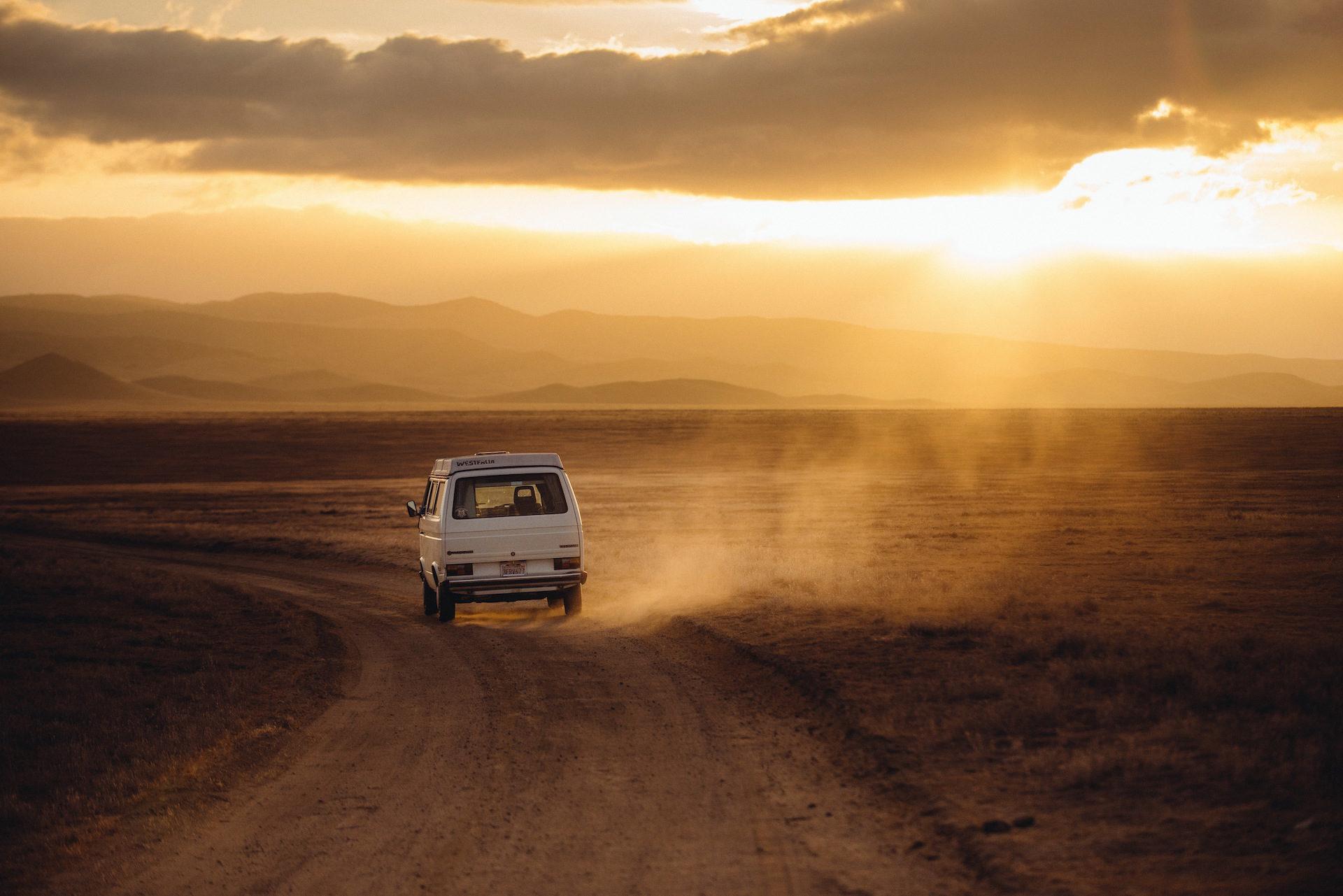 Van, έρημο, Ηλιοβασίλεμα, Άμμος, σκόνη - Wallpapers HD - Professor-falken.com