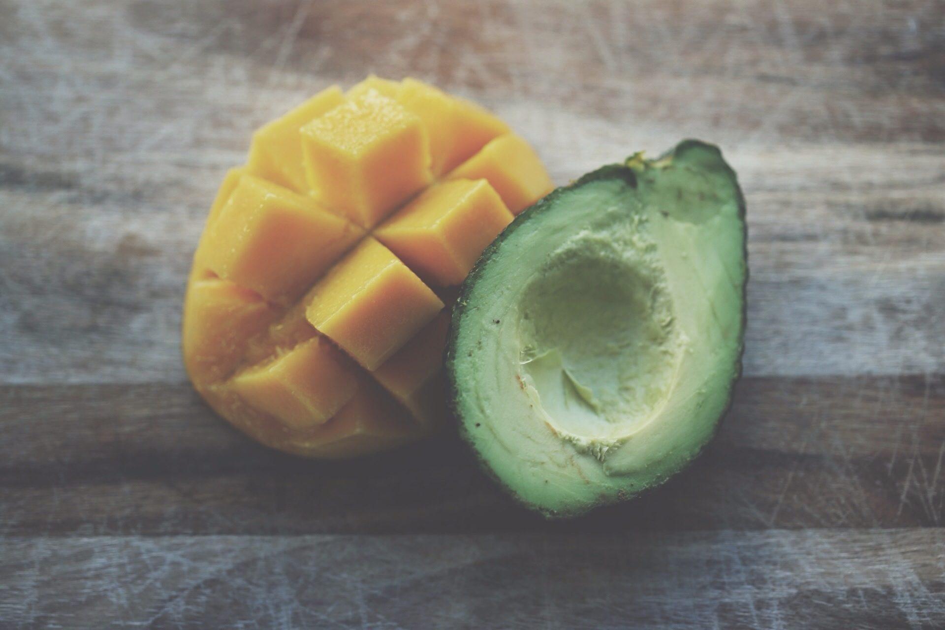 mango, aguacate, फल, लकड़ी, तालिका - HD वॉलपेपर - प्रोफेसर-falken.com