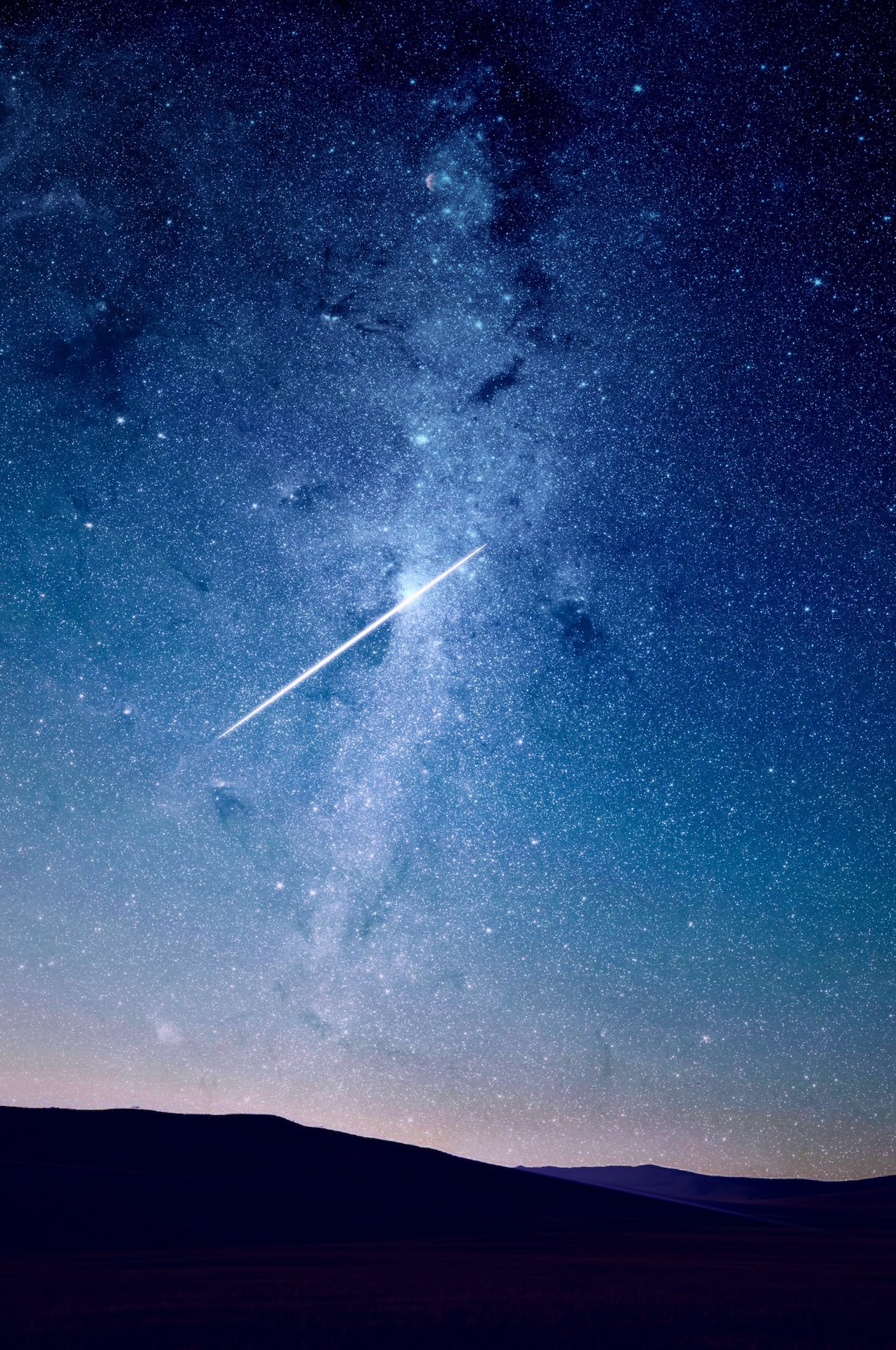 noche, cielo, estrellas, fugaz, deseo - Fondos de Pantalla HD - professor-falken.com