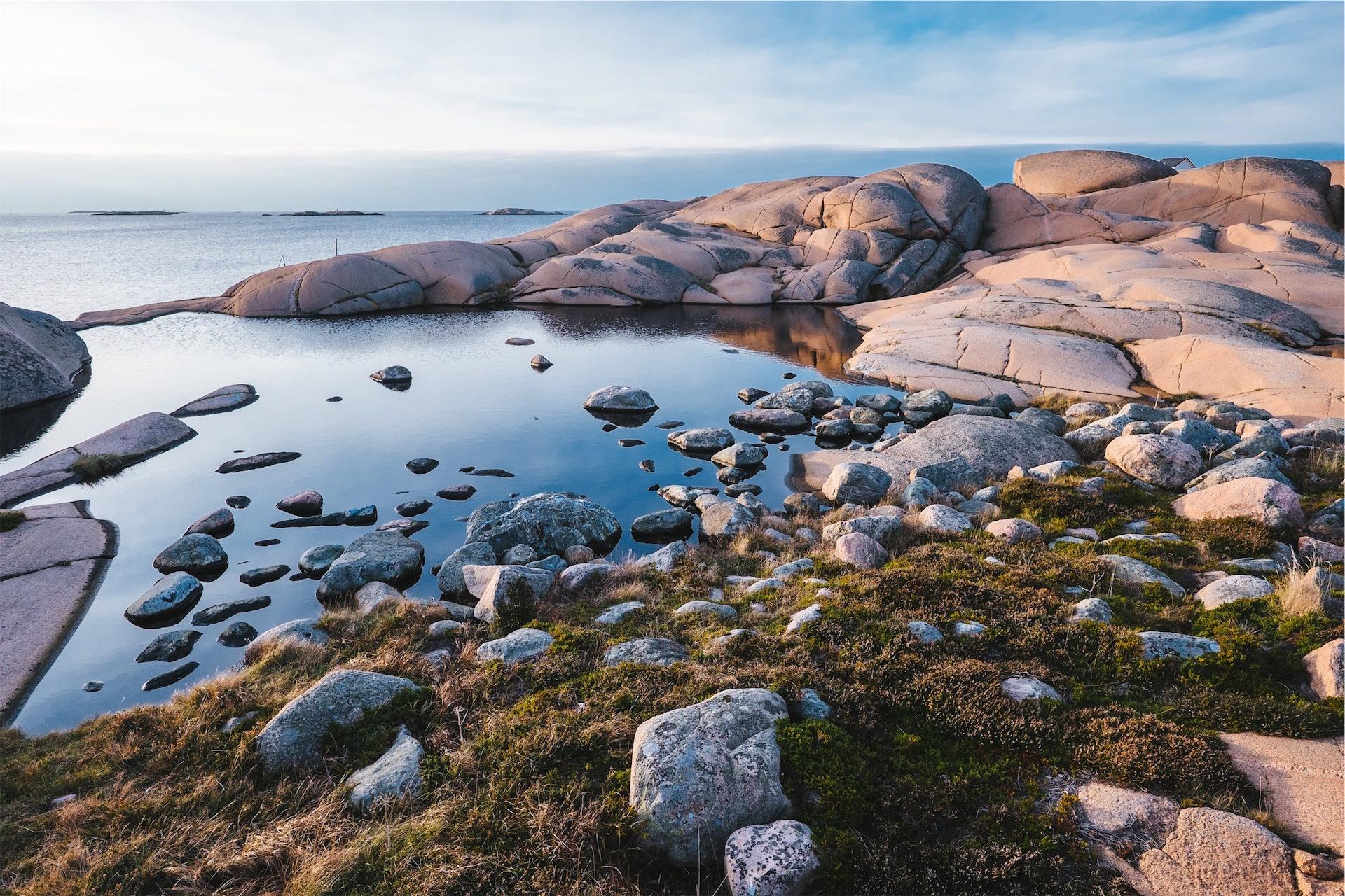 Oceano, pedras, Costa, Mar, Céu - Papéis de parede HD - Professor-falken.com