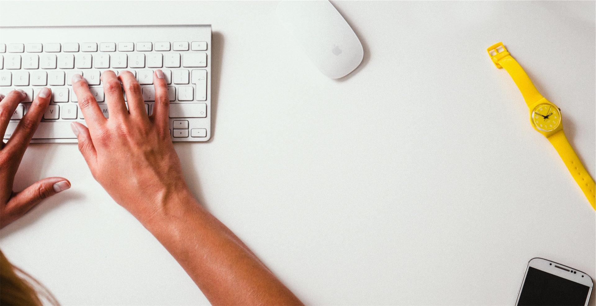 oficina, trabajo, manos, ordenador, reloj - Fondos de Pantalla HD - professor-falken.com