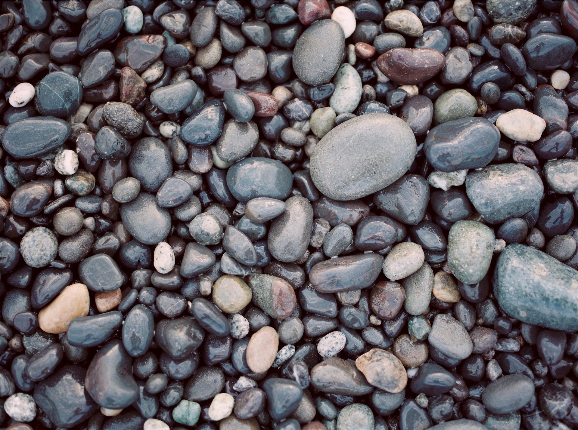 камни, Пляж, воды, хаос, Формы - Обои HD - Профессор falken.com