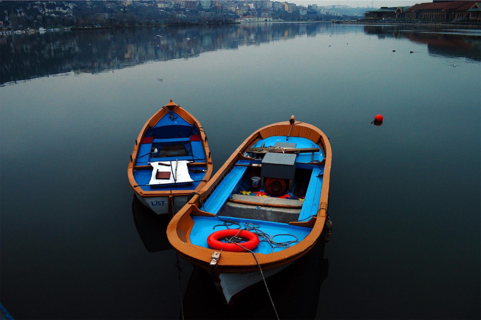 Barcos, Lago, rio, Cidade, amarração - Papéis de parede HD - Professor-falken.com
