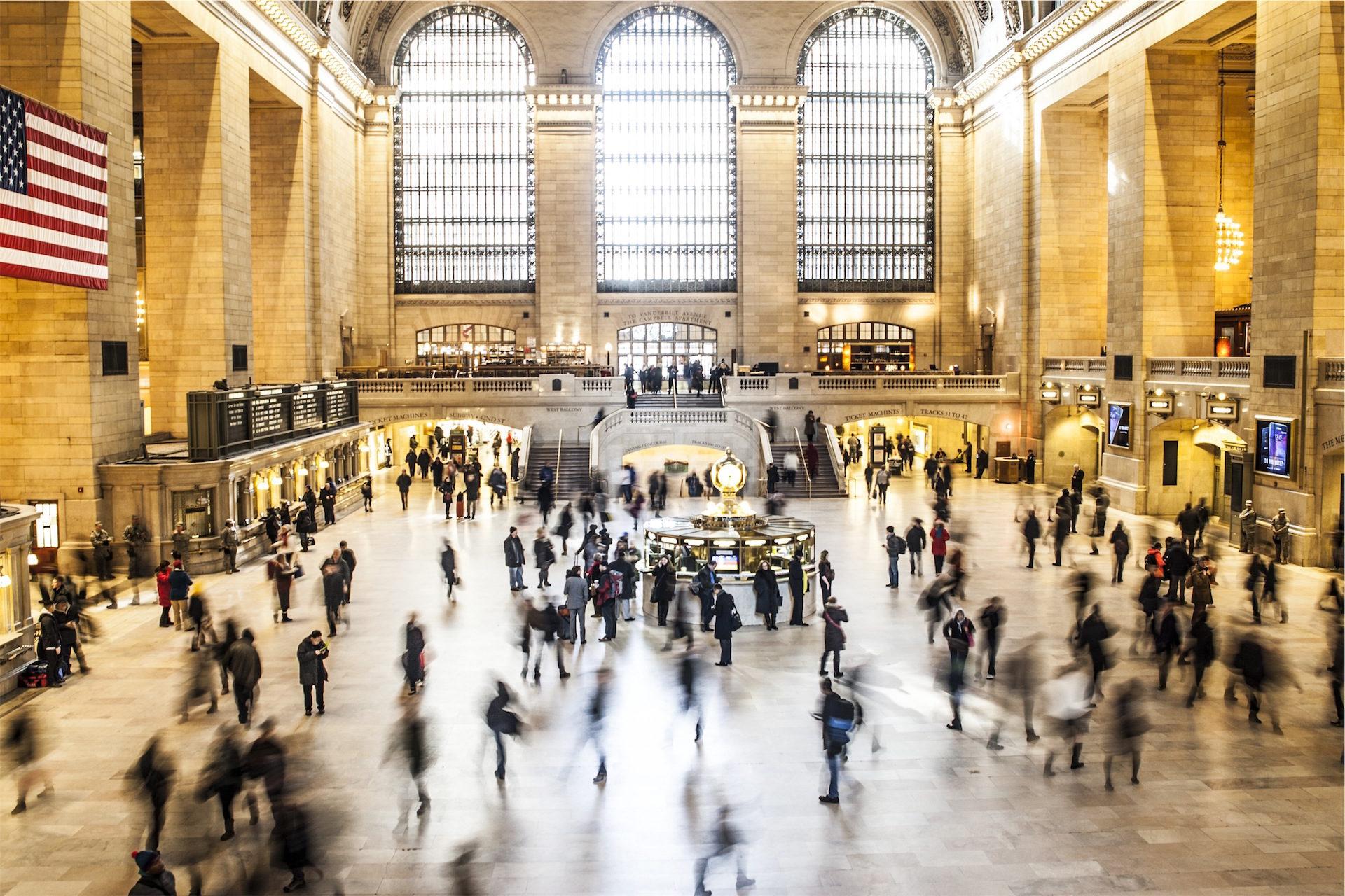 Bahnhof, Metro, Menschen, Reisende, USA - Wallpaper HD - Prof.-falken.com