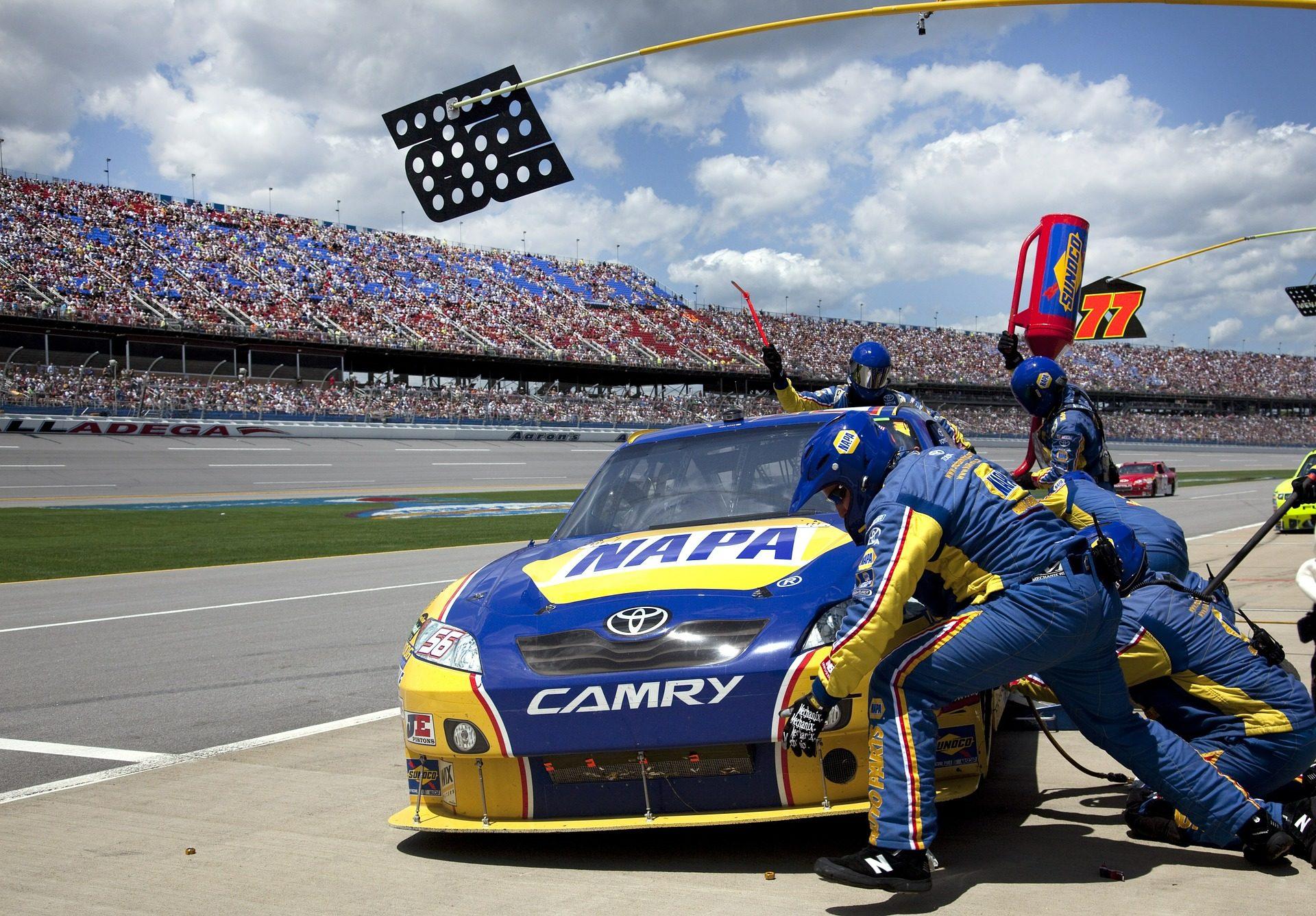 NASCAR, carreira, Carros, reabastecimento de combustível, equipe - Papéis de parede HD - Professor-falken.com