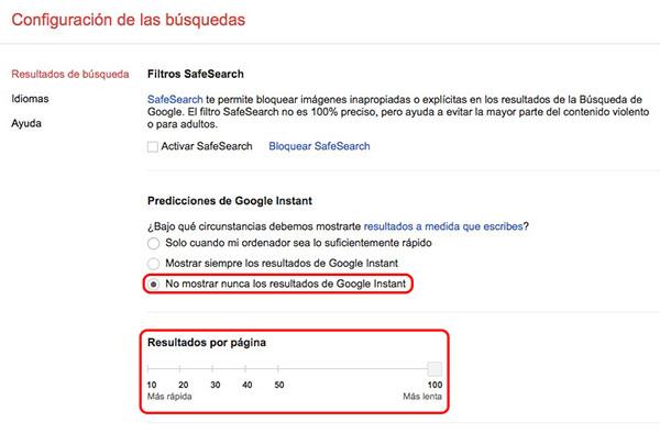 Как увеличить количество результатов на странице поиска на Google - Изображение 3 - Профессор falken.com