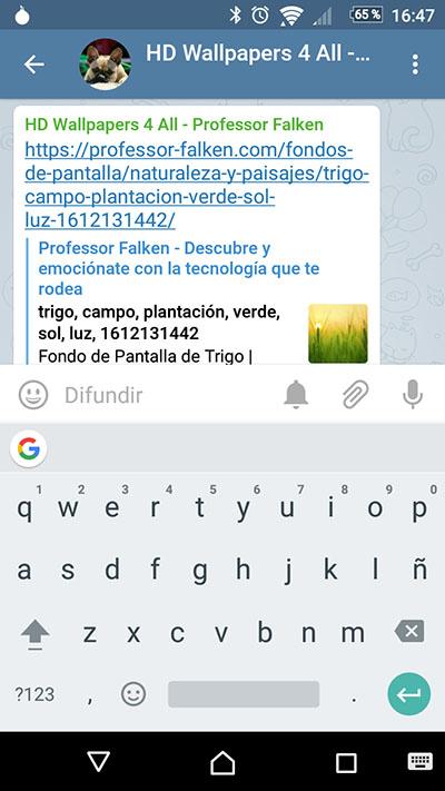 Wie jetzt die Tastatur von Google GBoard - Bild 1 - Prof.-falken.com